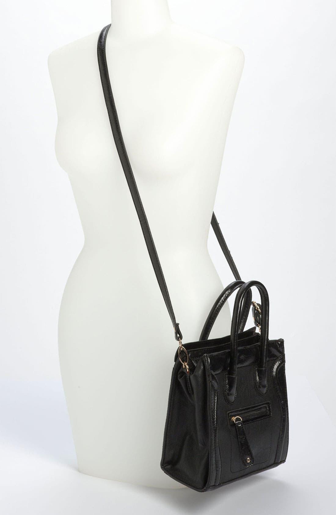 Alternate Image 2  - Street Level Structured Tote Bag