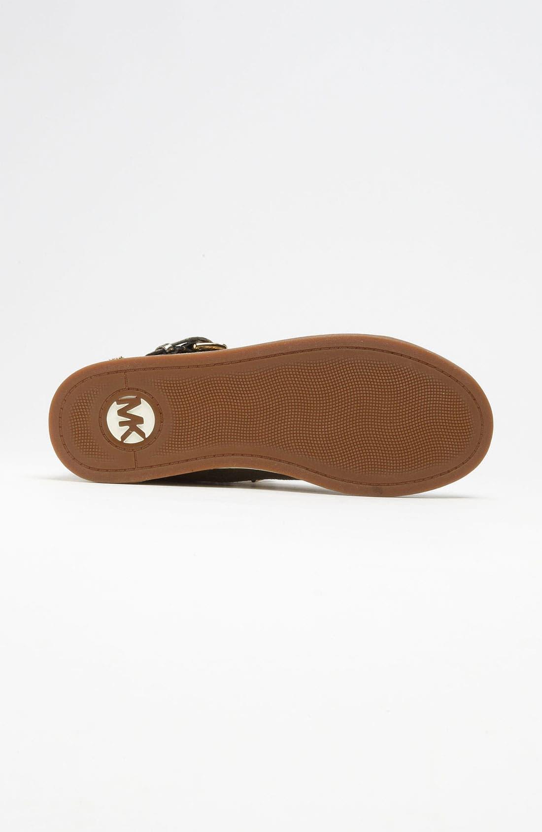 Alternate Image 4  - MICHAEL Michael Kors 'Glam' High Top Sneaker