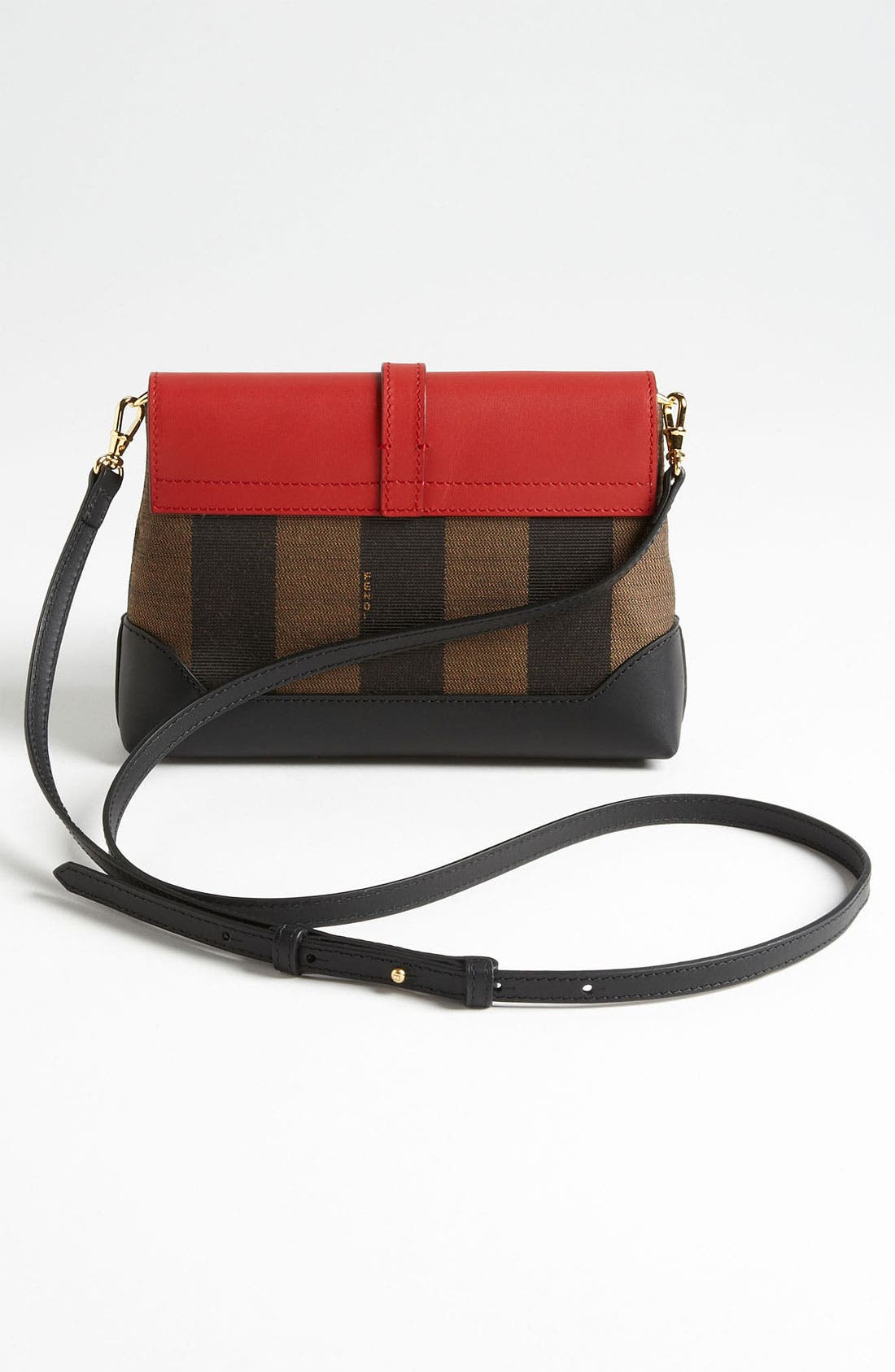 Alternate Image 4  - Fendi 'Pequin - Mini' Crossbody Bag