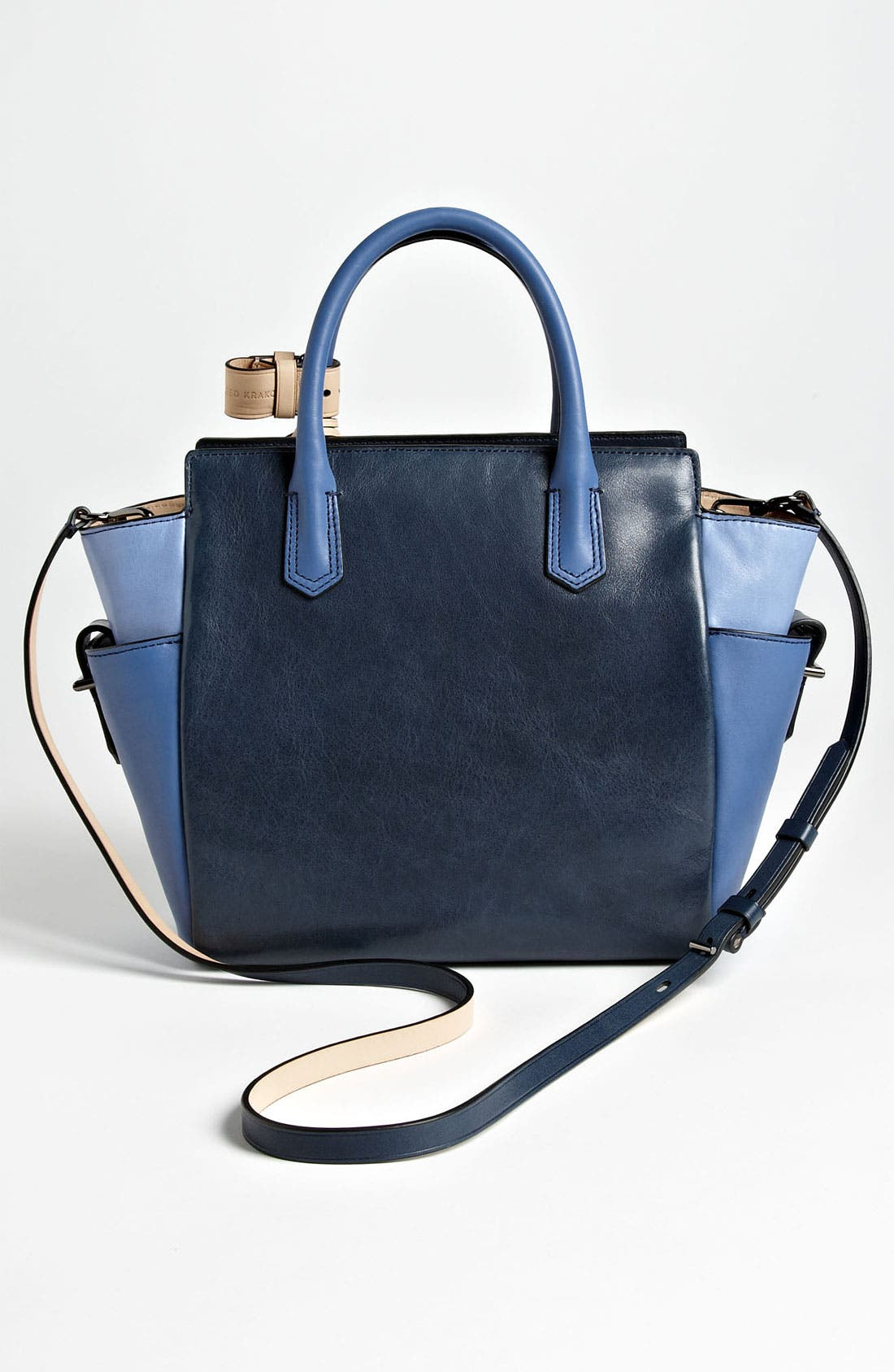 Alternate Image 4  - Reed Krakoff 'Atlantique - Mini' Colorblock Leather Satchel