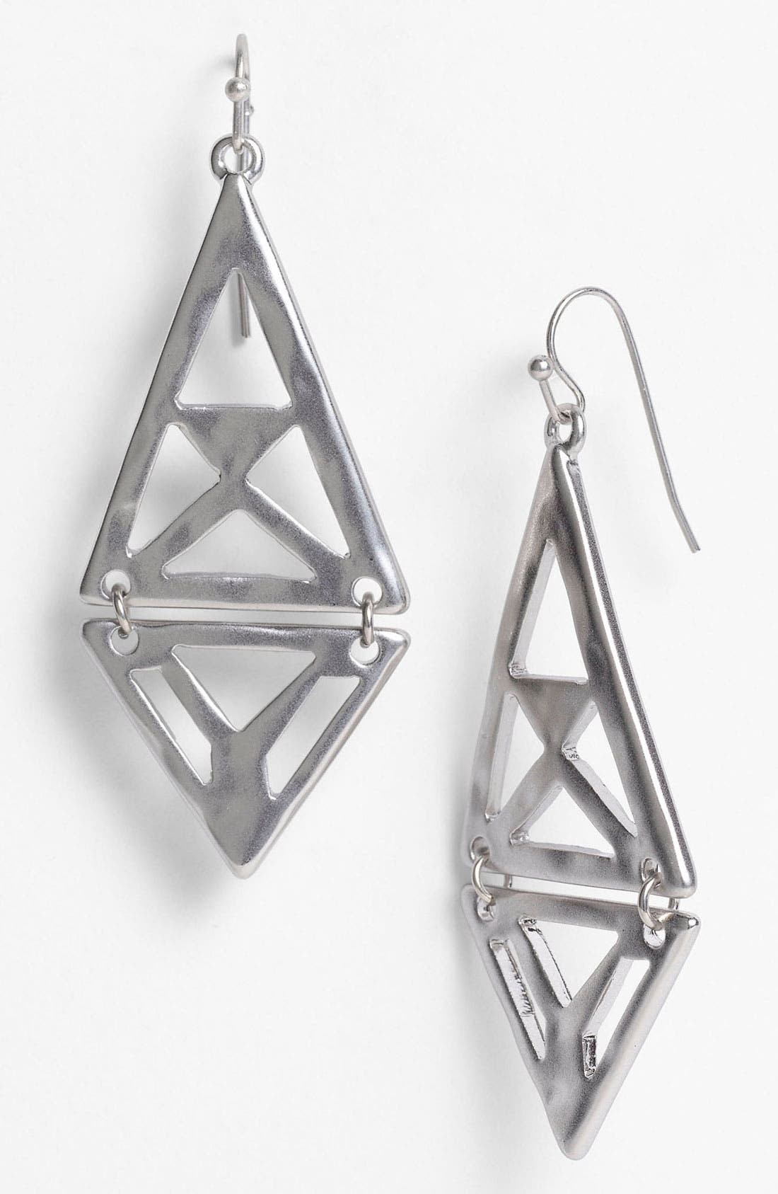 Alternate Image 1 Selected - Nordstrom Tribal Cutout Kite Earrings