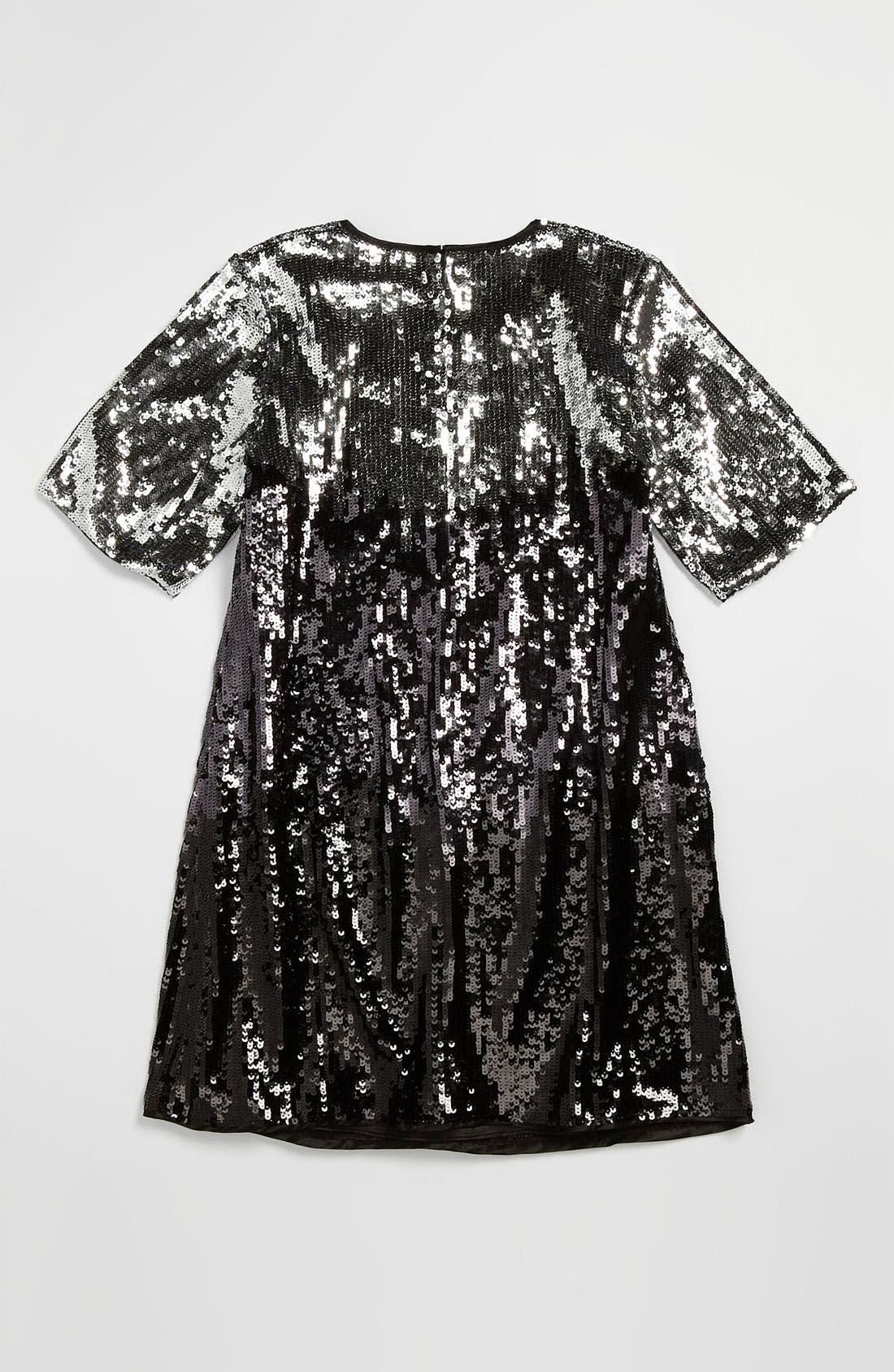 Alternate Image 3  - La Piccola Danza Kidswear Sequin Ombré Dress (Little Girls & Big Girls)