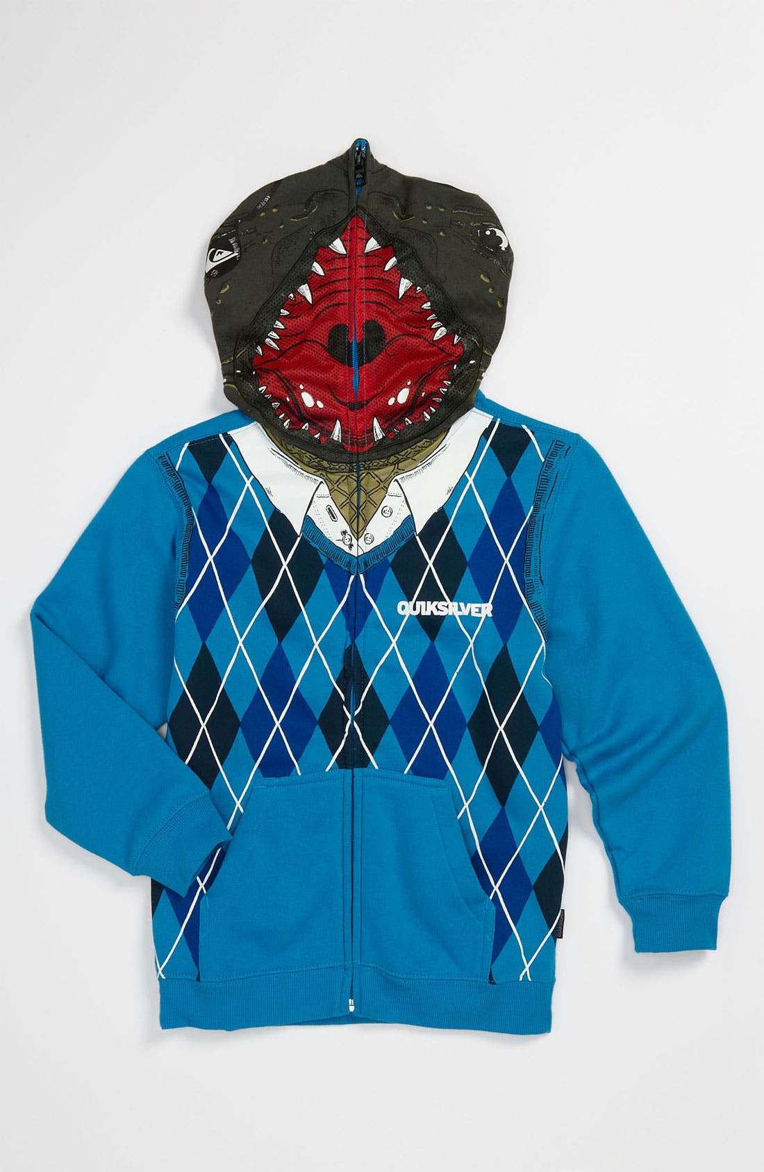Alternate Image 1 Selected - Quiksilver 'Irony' Mask Hoodie (Little Boys)