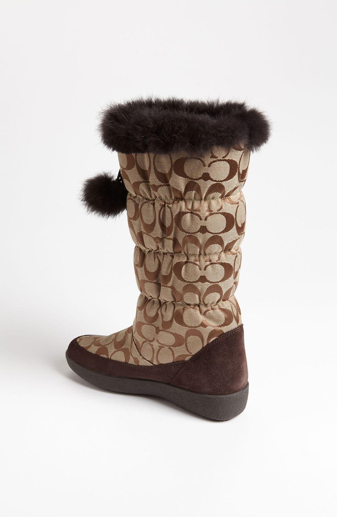 Alternate Image 2  - COACH 'Theona' Snow Boot