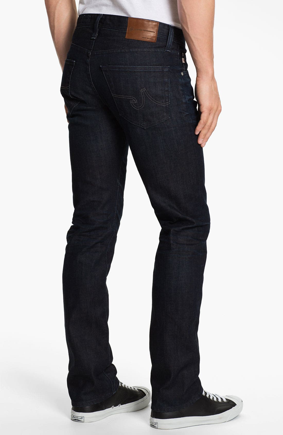 Alternate Image 2  - AG 'Matchbox' Slim Fit Jeans (3 Year Tonal)