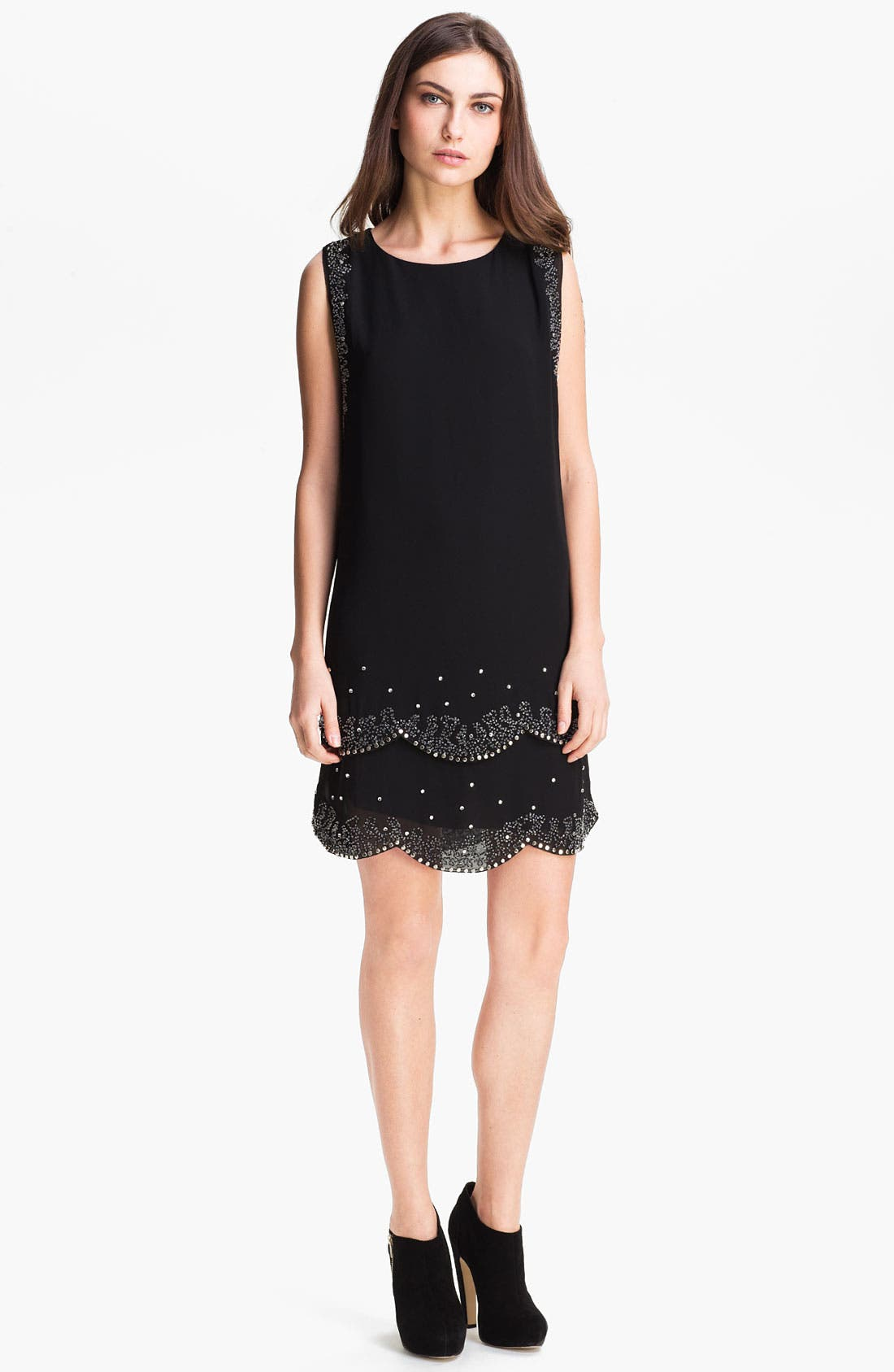 Alternate Image 1 Selected - Ted Baker London Embellished Shift Dress