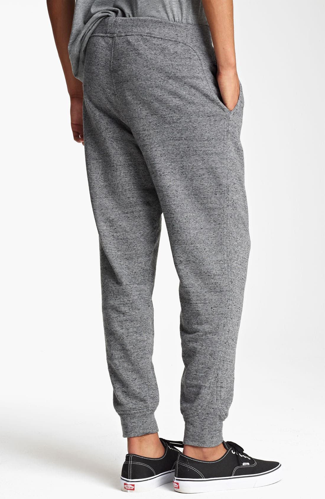 Alternate Image 2  - T by Alexander Wang French Terry Cotton Sweatpants