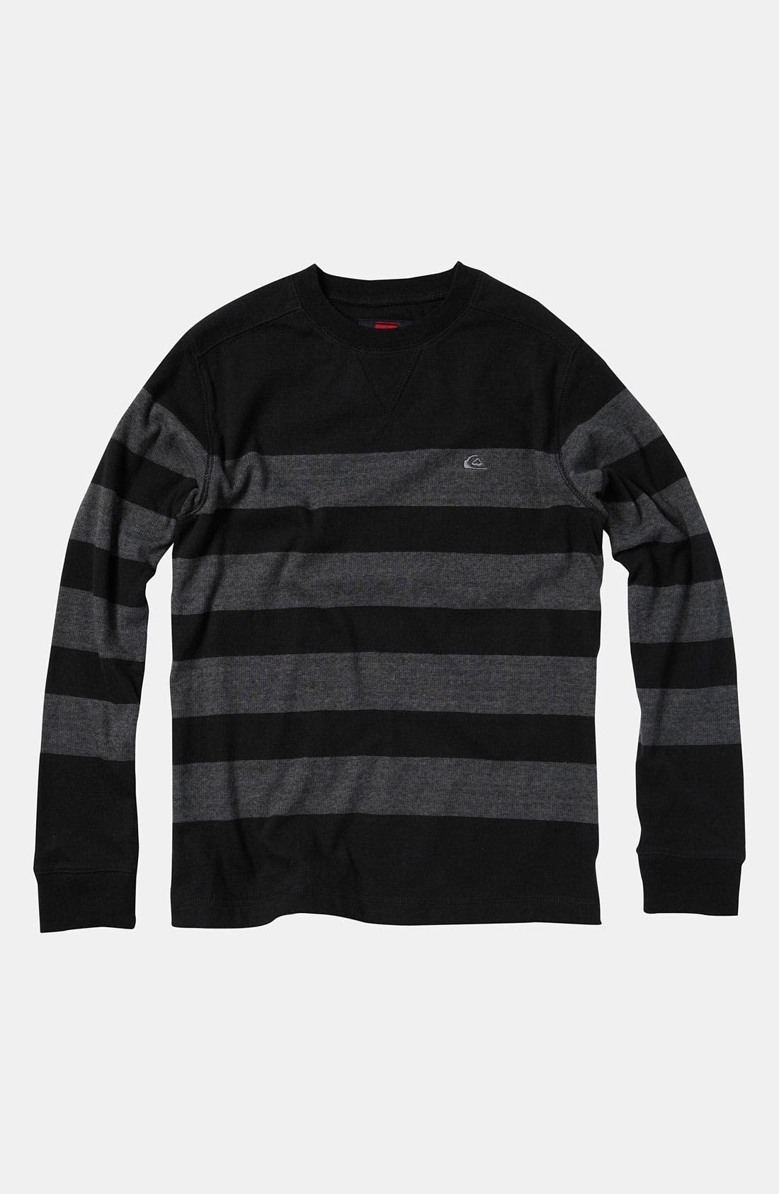 Alternate Image 1 Selected - Quiksilver 'Snit Stripe' Top (Big Boys)