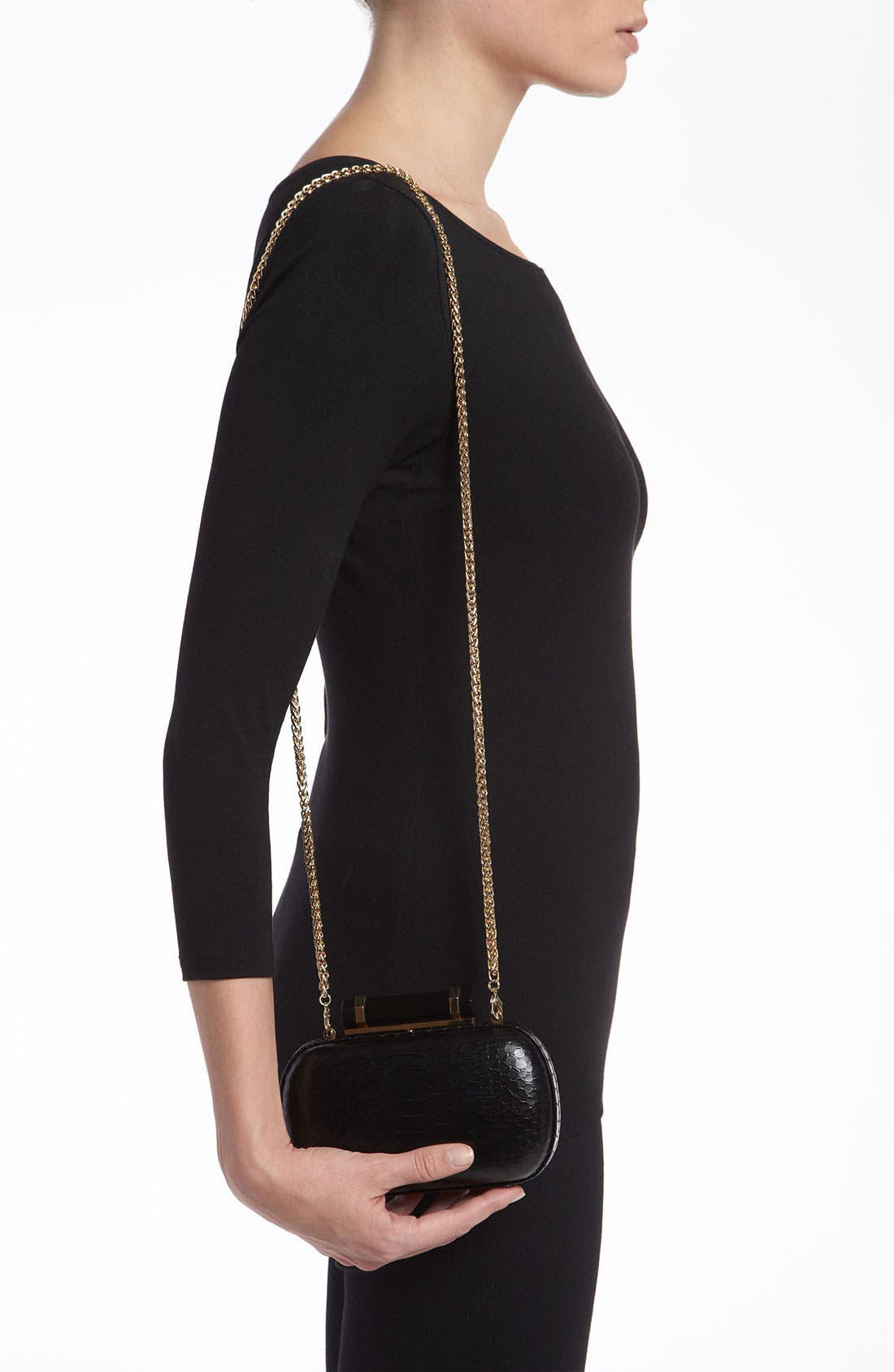 Alternate Image 2  - Vince Camuto 'Onyx French' Clutch