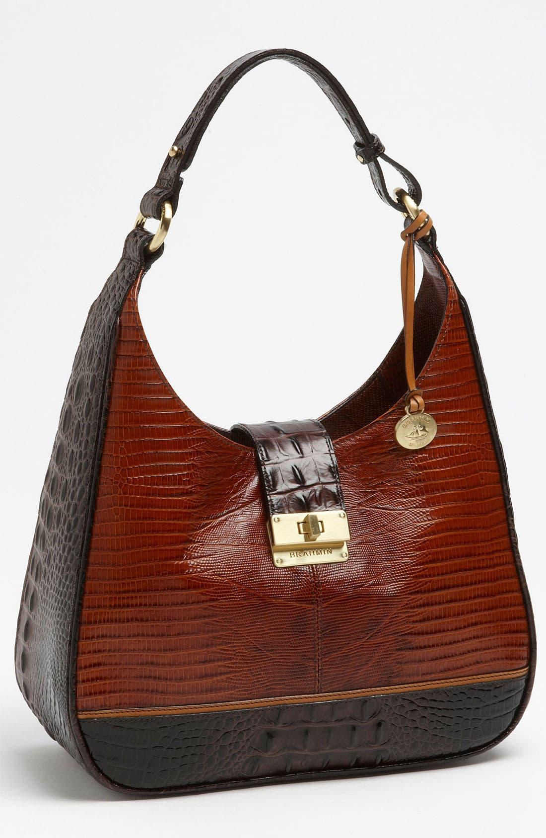 Alternate Image 1 Selected - Brahmin 'Tri-Texture Quinn' Shoulder Bag
