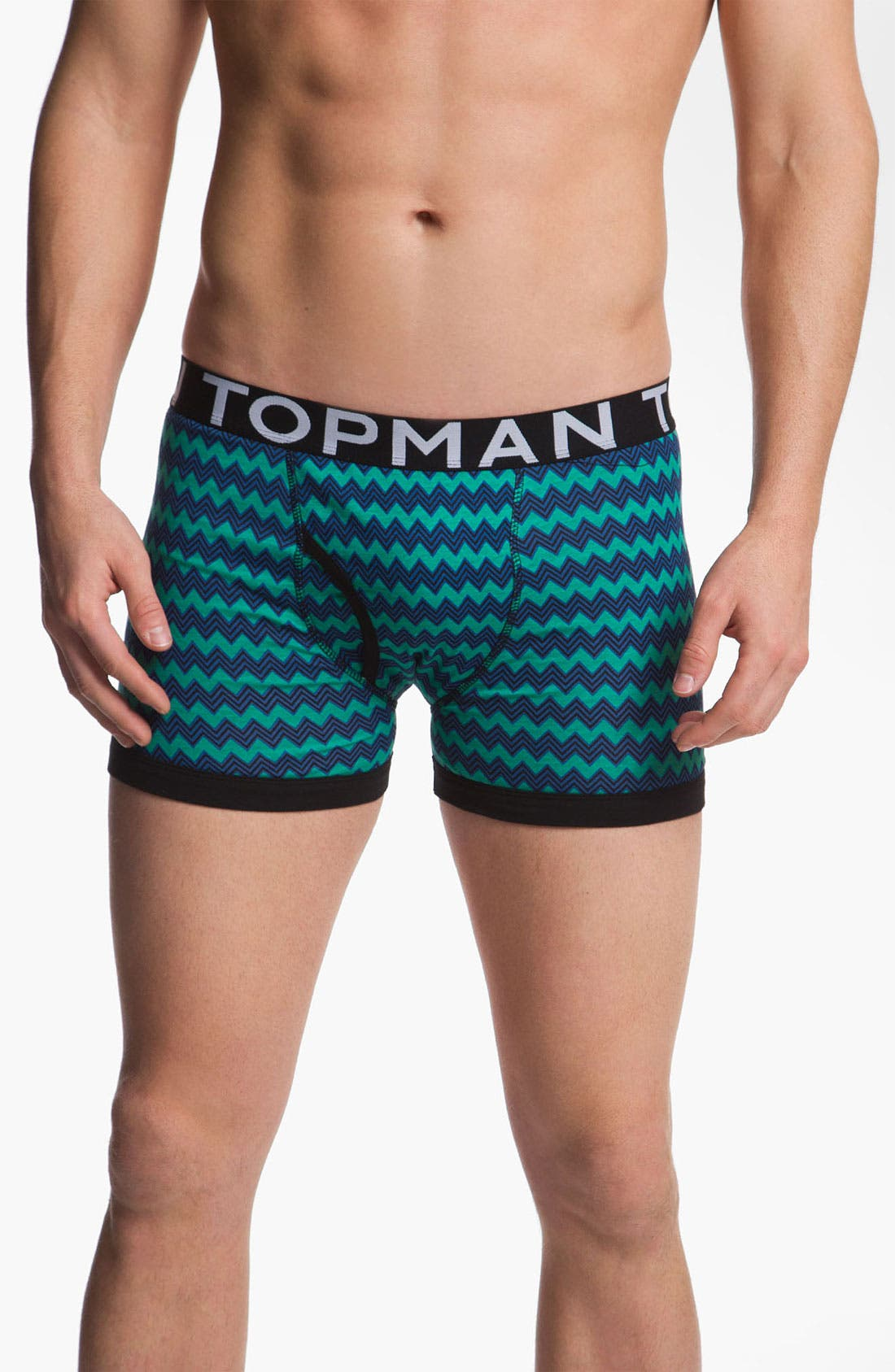 Alternate Image 4  - Topman Mix Pattern Boxer Briefs (3-Pack)
