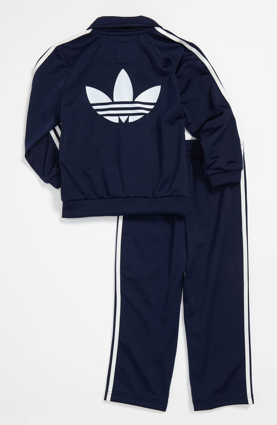 Alternate Image 2  - adidas 'Firebird' Jacket & Pants (Infant)