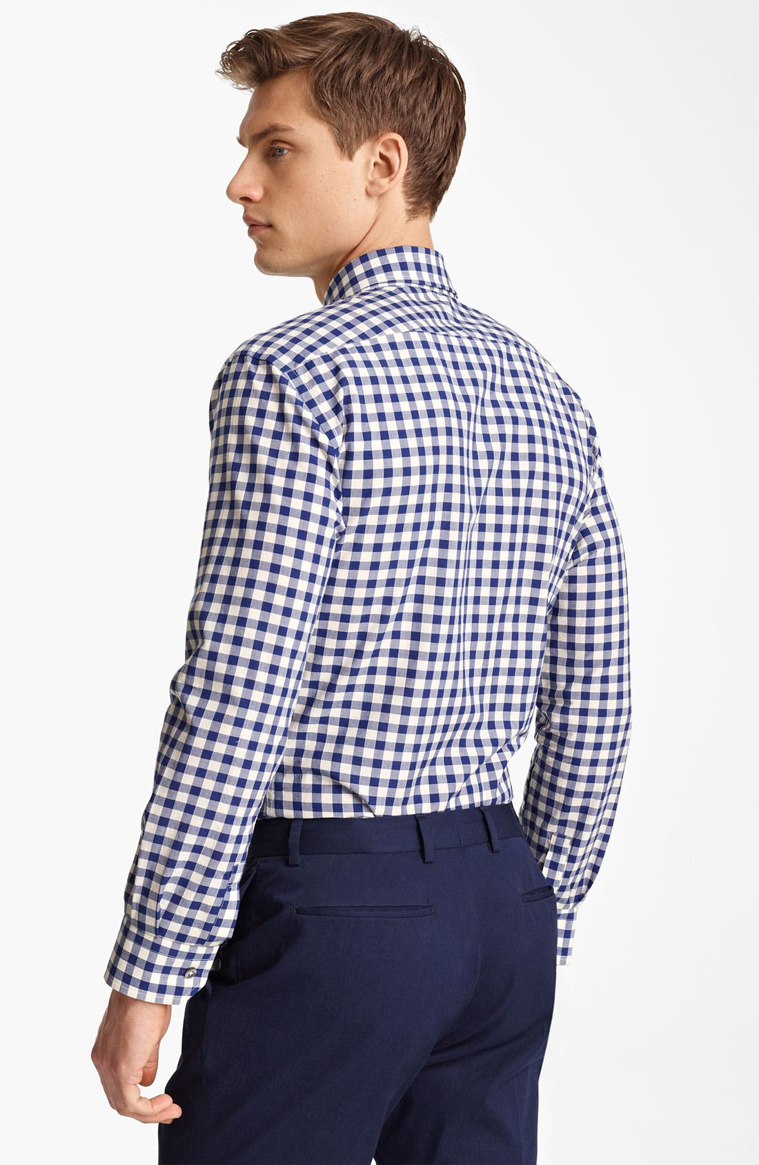 Alternate Image 2  - PS Paul Smith Large Gingham Shirt