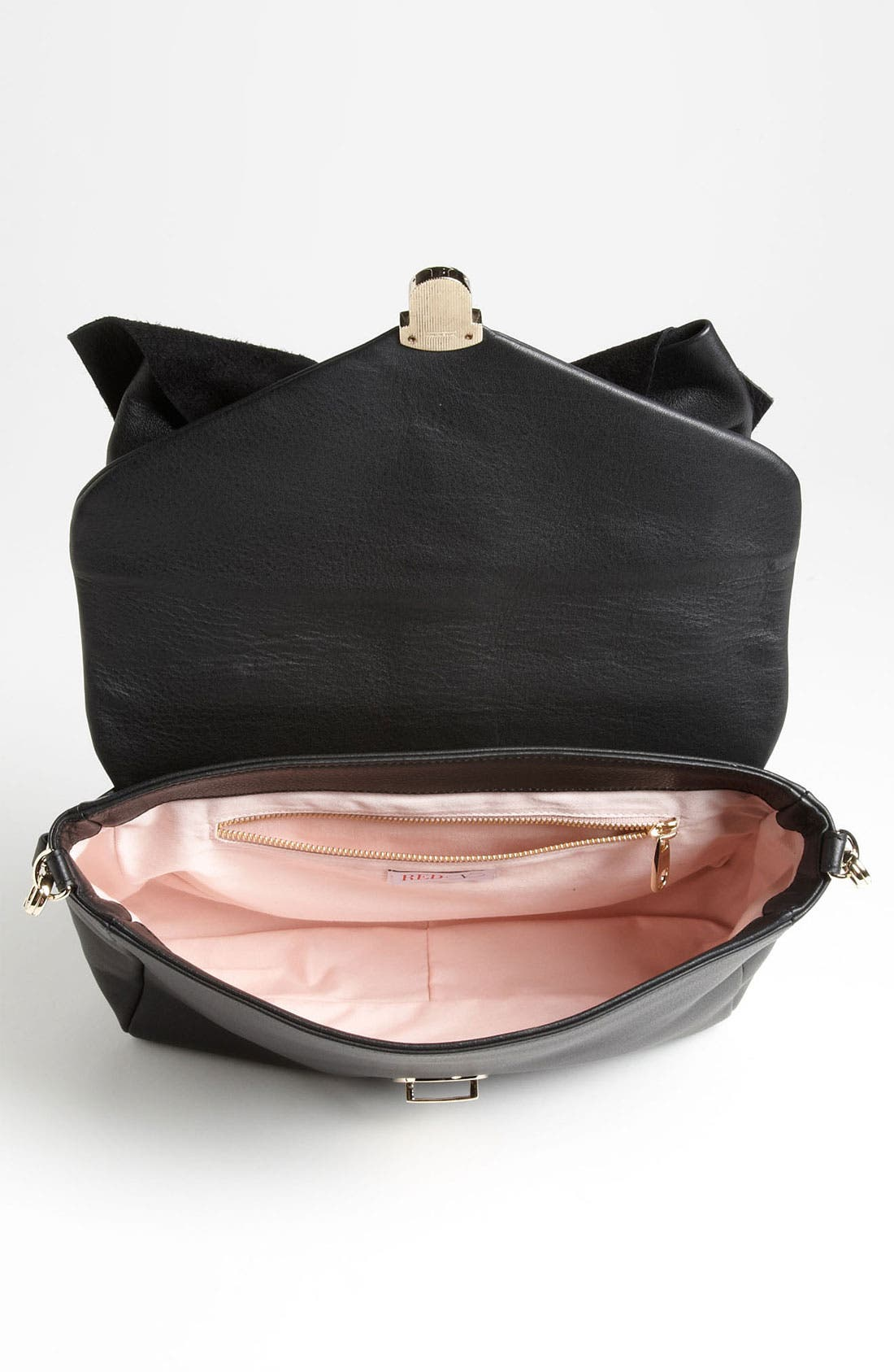Alternate Image 3  - RED Valentino 'Bow' Top Handle Leather Satchel