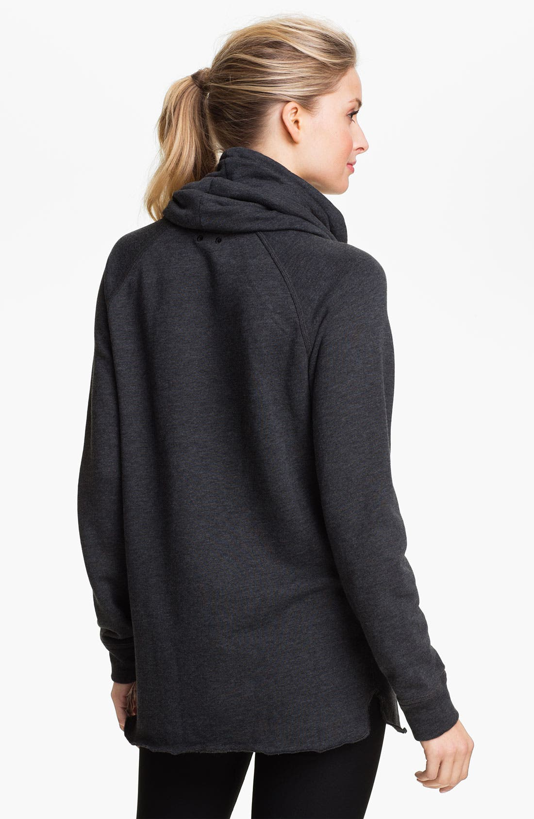 Alternate Image 2  - Nike Long Funnel Neck Top