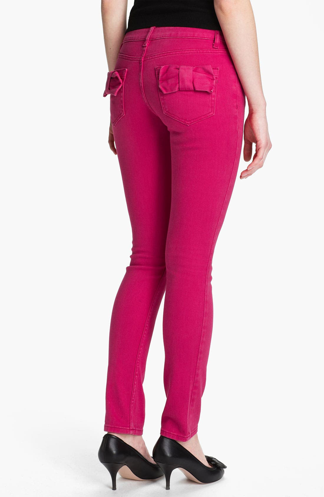 Alternate Image 2  - RED Valentino Skinny Stretch Denim Jeans