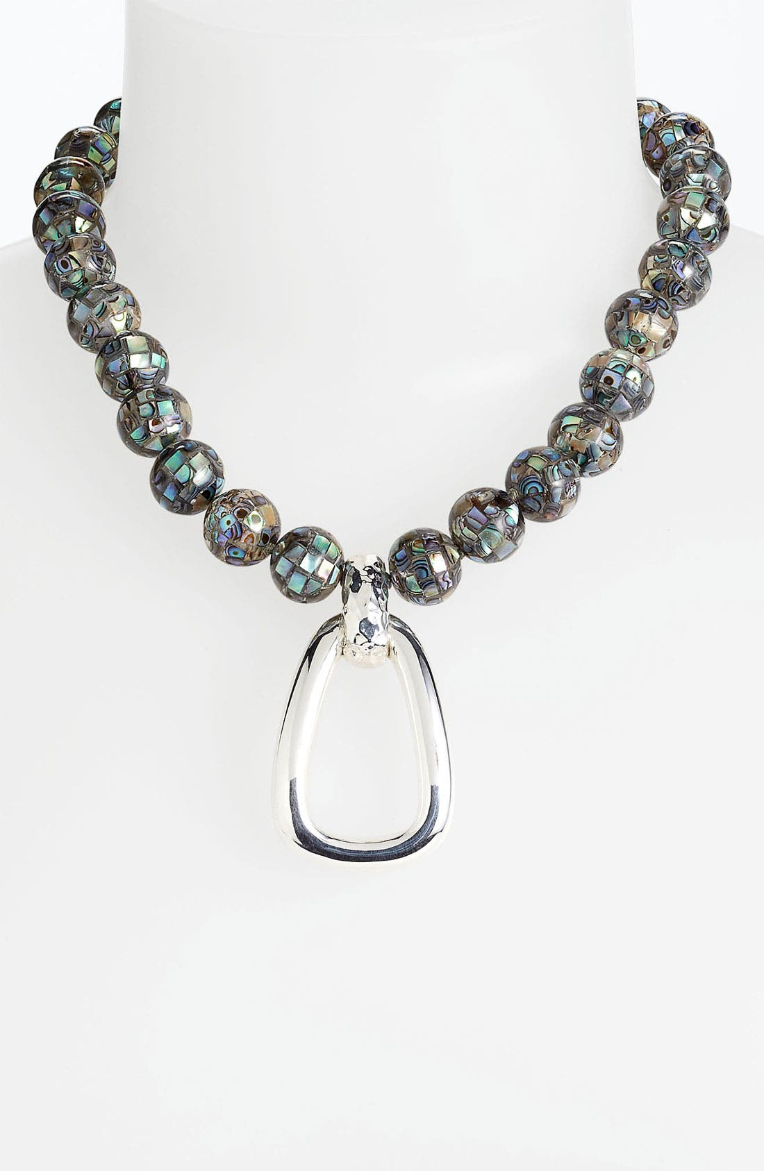 Alternate Image 1 Selected - Simon Sebbag 'Tahiti' Open Pendant Necklace