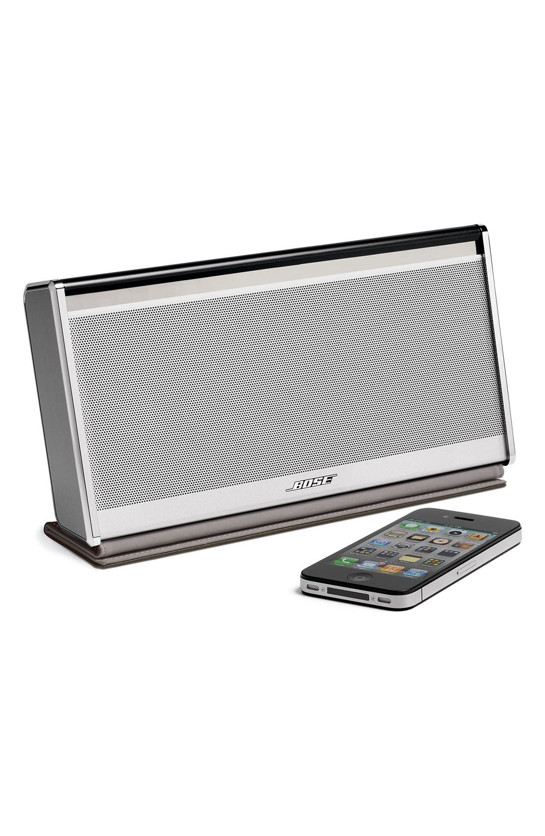 Alternate Image 4  - Bose® SoundLink® Bluetooth® Mobile Speaker II – Leather Edition