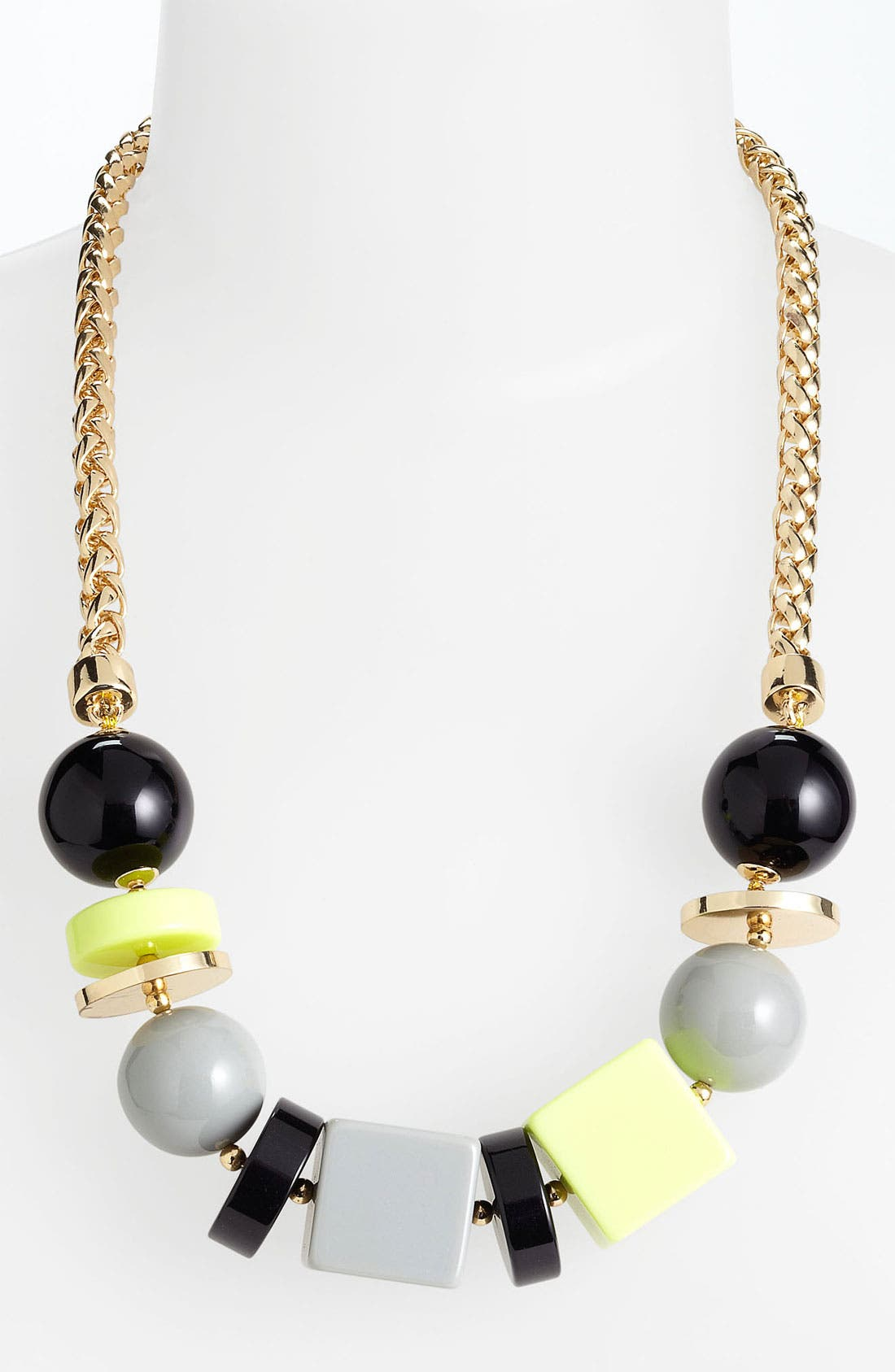 Main Image - kate spade new york 'squared away' frontal necklace