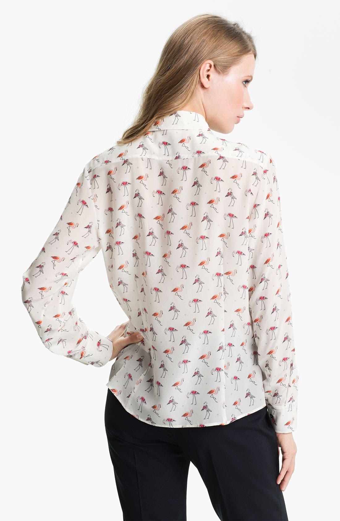 Alternate Image 2  - Weekend Max Mara 'Trau' Silk Shirt