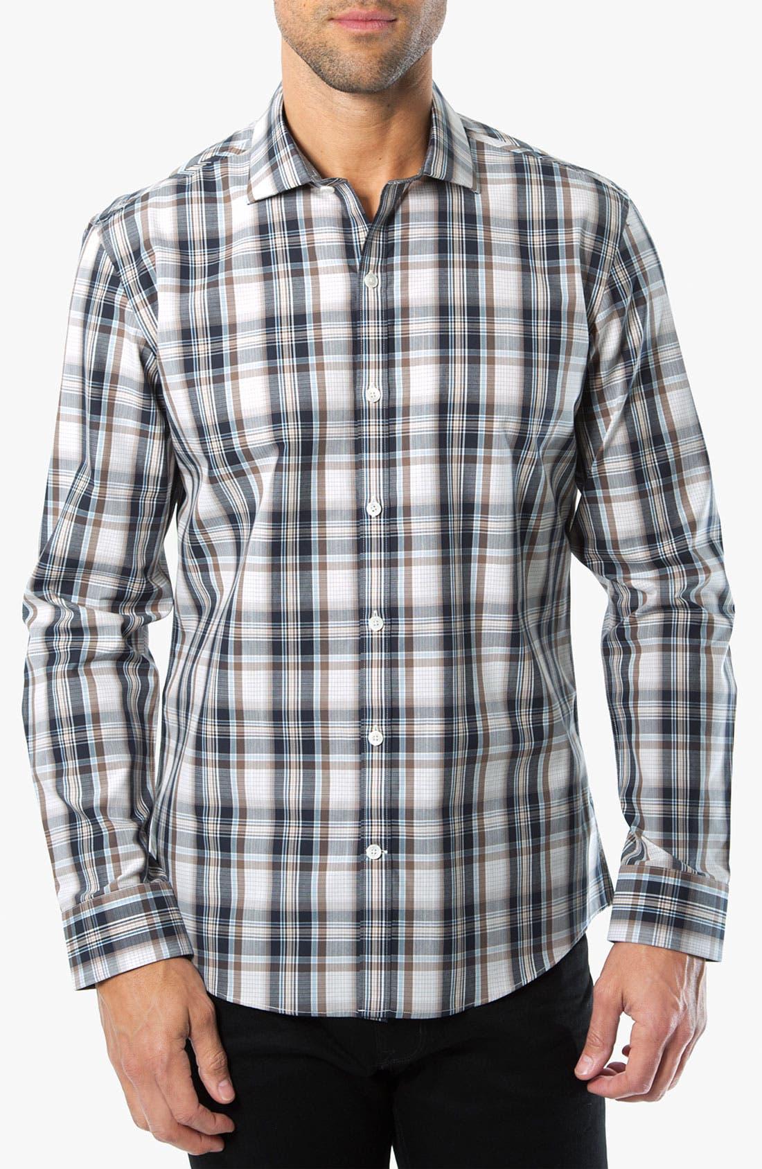 Main Image - Kenson 'High Noon' Plaid Woven Shirt