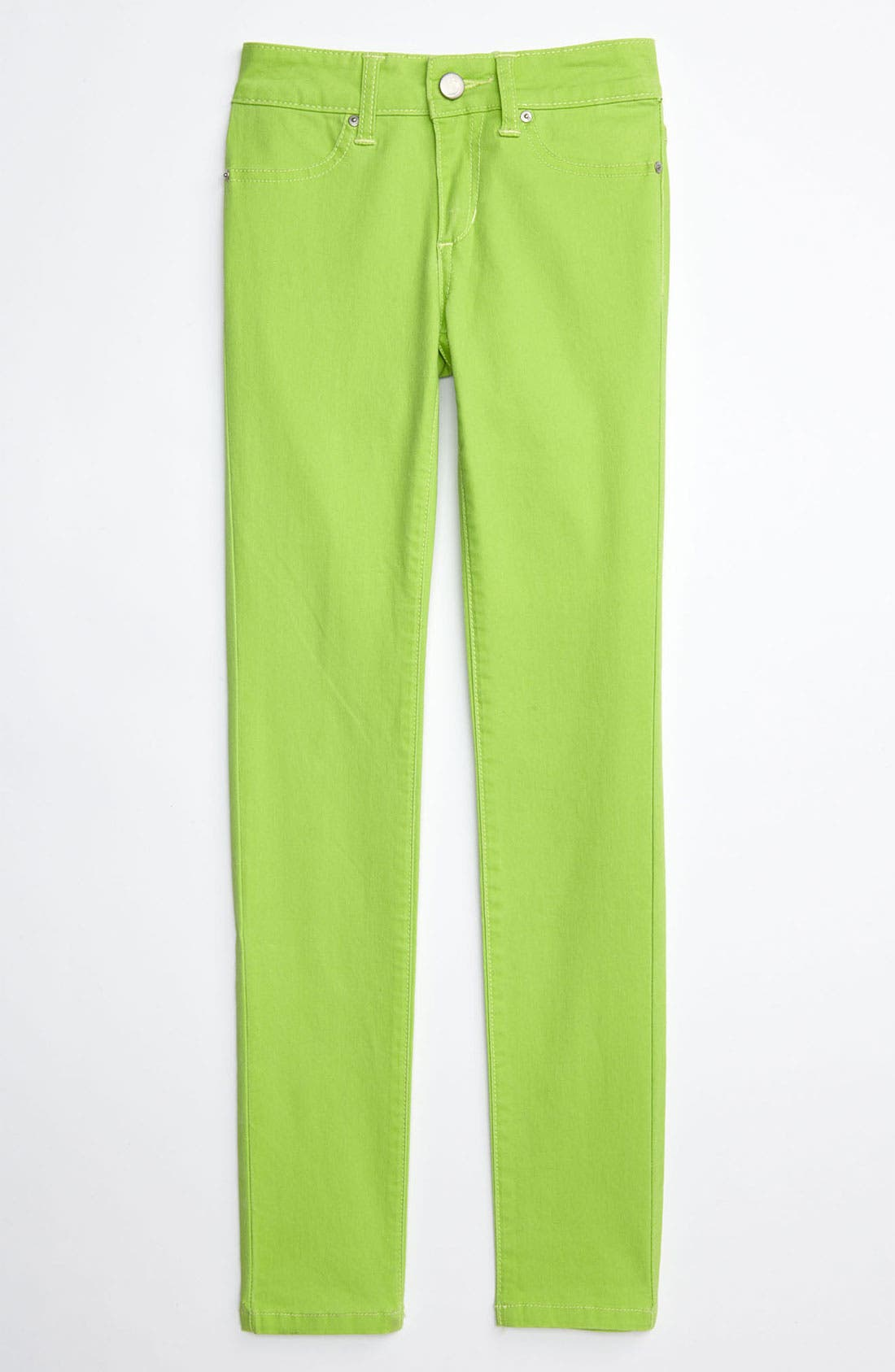 Alternate Image 2  - Joe's Neon Denim Jeggings (Little Girls)