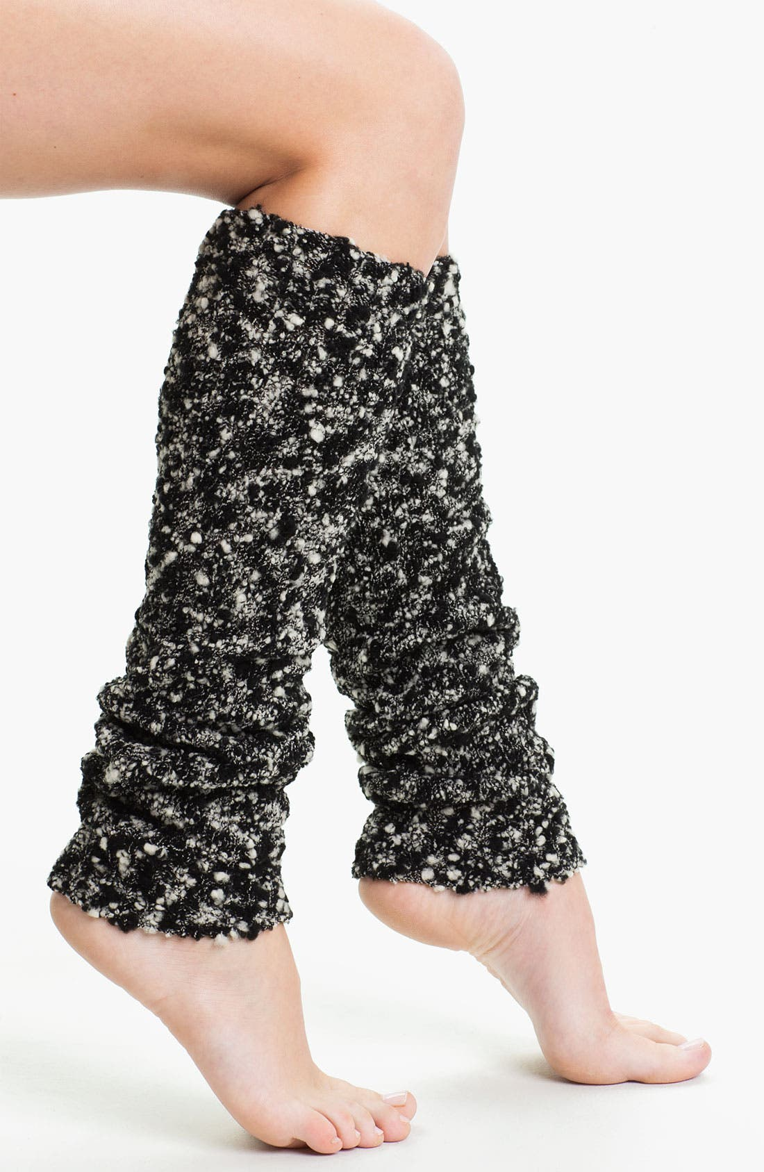 Main Image - DKNY Marled Tweed Leg Warmers