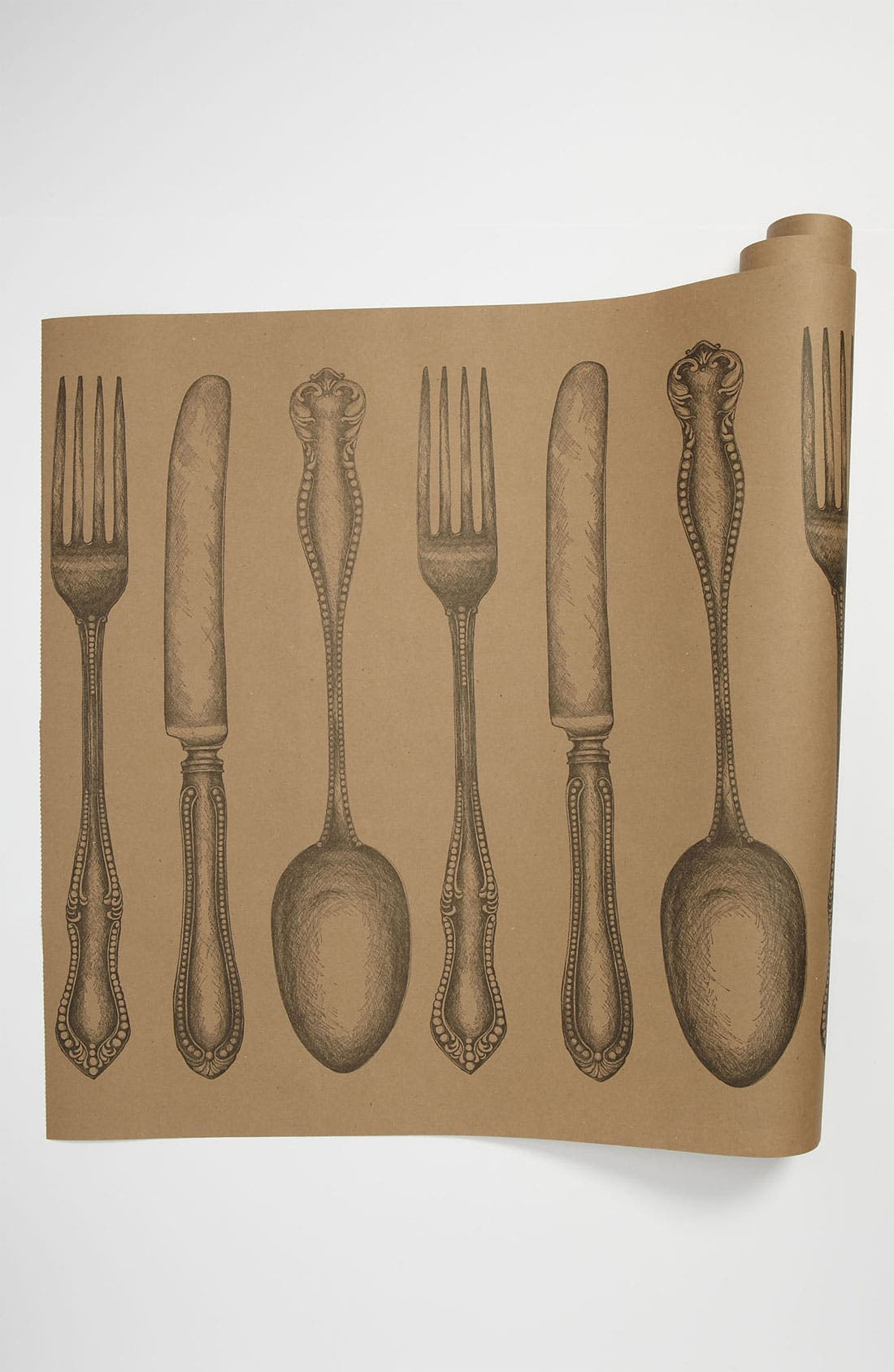 Alternate Image 1 Selected - Kitchen Papers by Cake 'Cutlery' Paper Table Runner