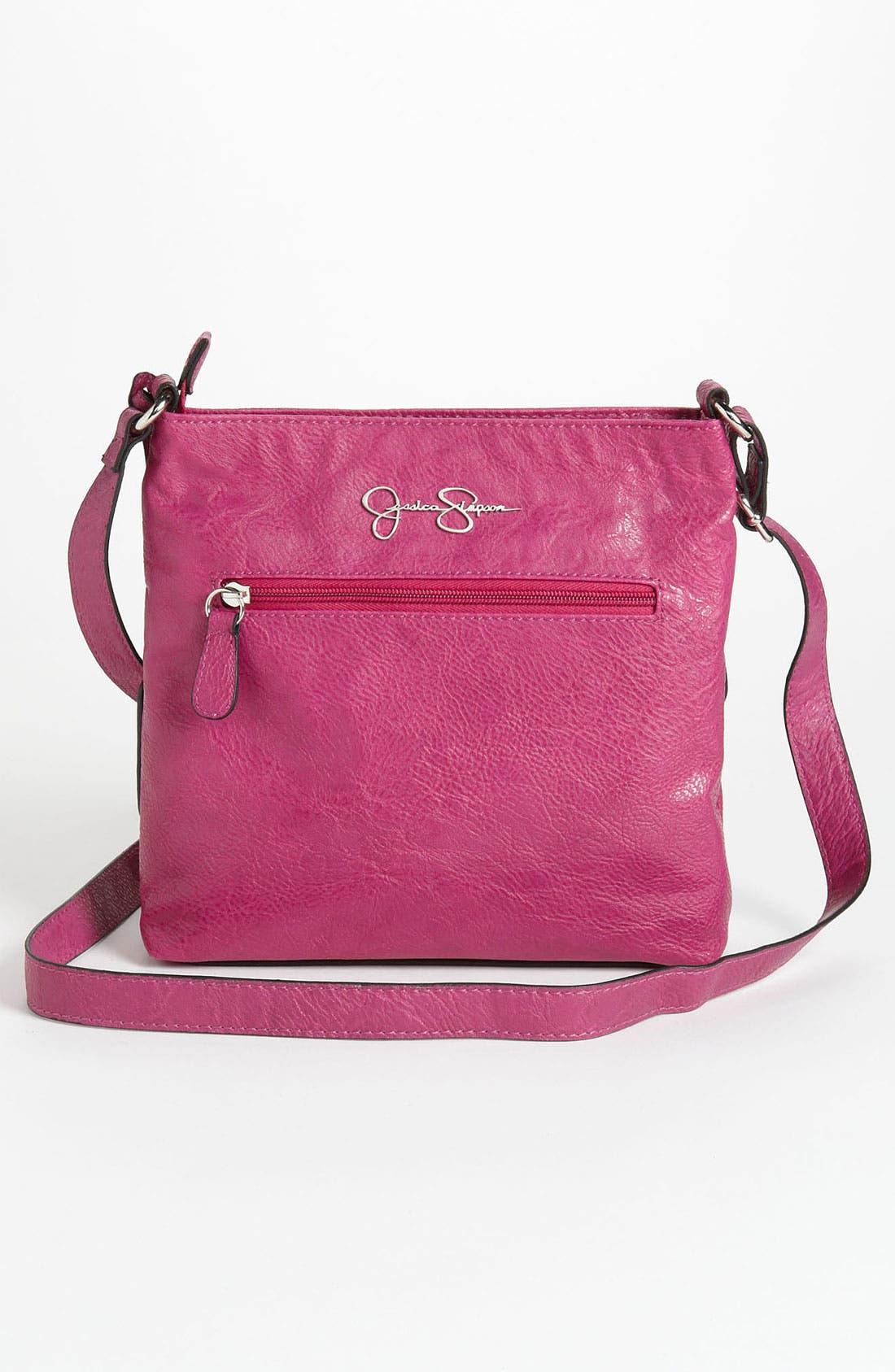 Alternate Image 4  - Jessica Simpson 'Chelsea' Crossbody Bag