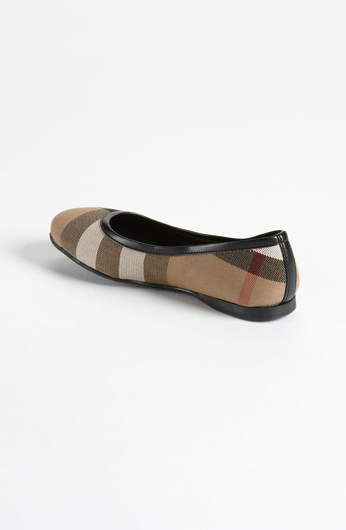 Alternate Image 2  - Burberry 'Adelle' Flat (Walker, Toddler, Little Kid & Big Kid)