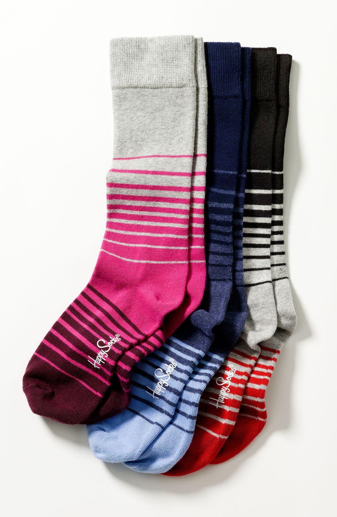 Alternate Image 3  - Happy Socks Stripe Socks