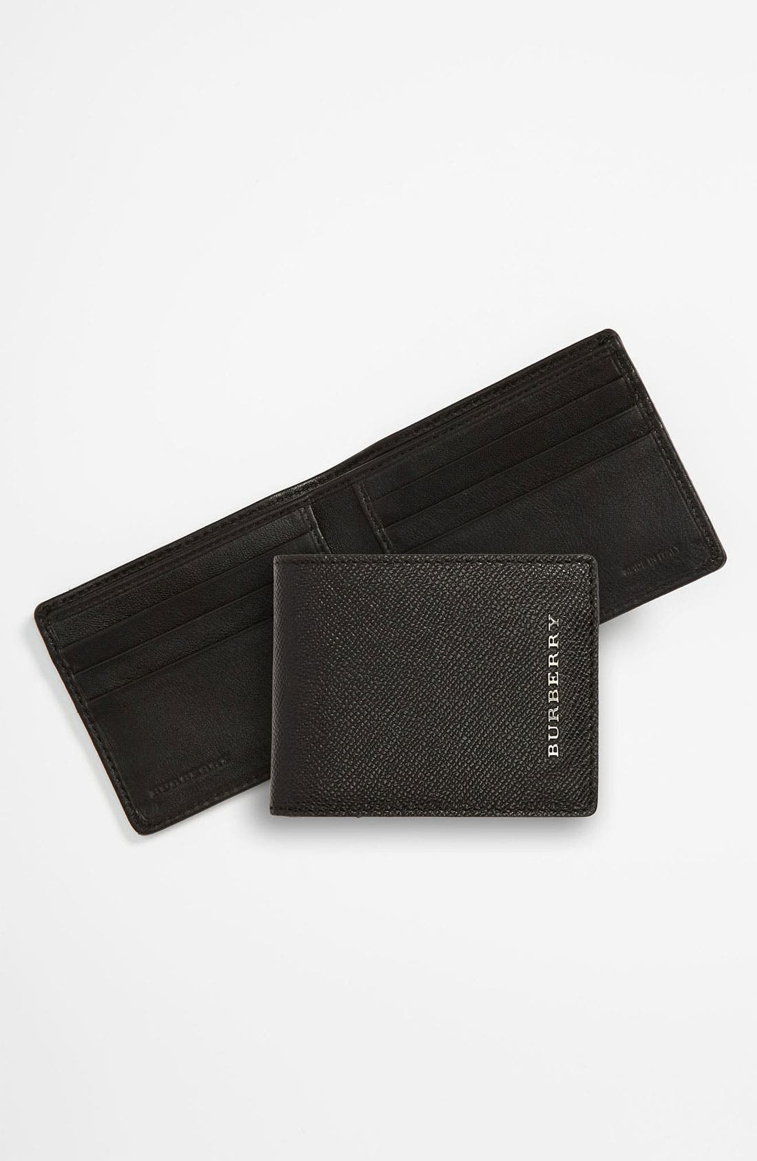 Alternate Image 1 Selected - Burberry Small Billfold Wallet
