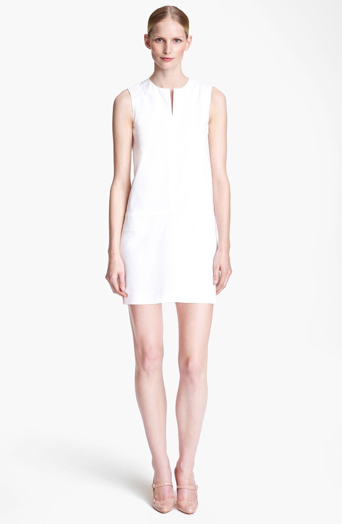 Alternate Image 1 Selected - Jil Sander Stretch Cotton Dress