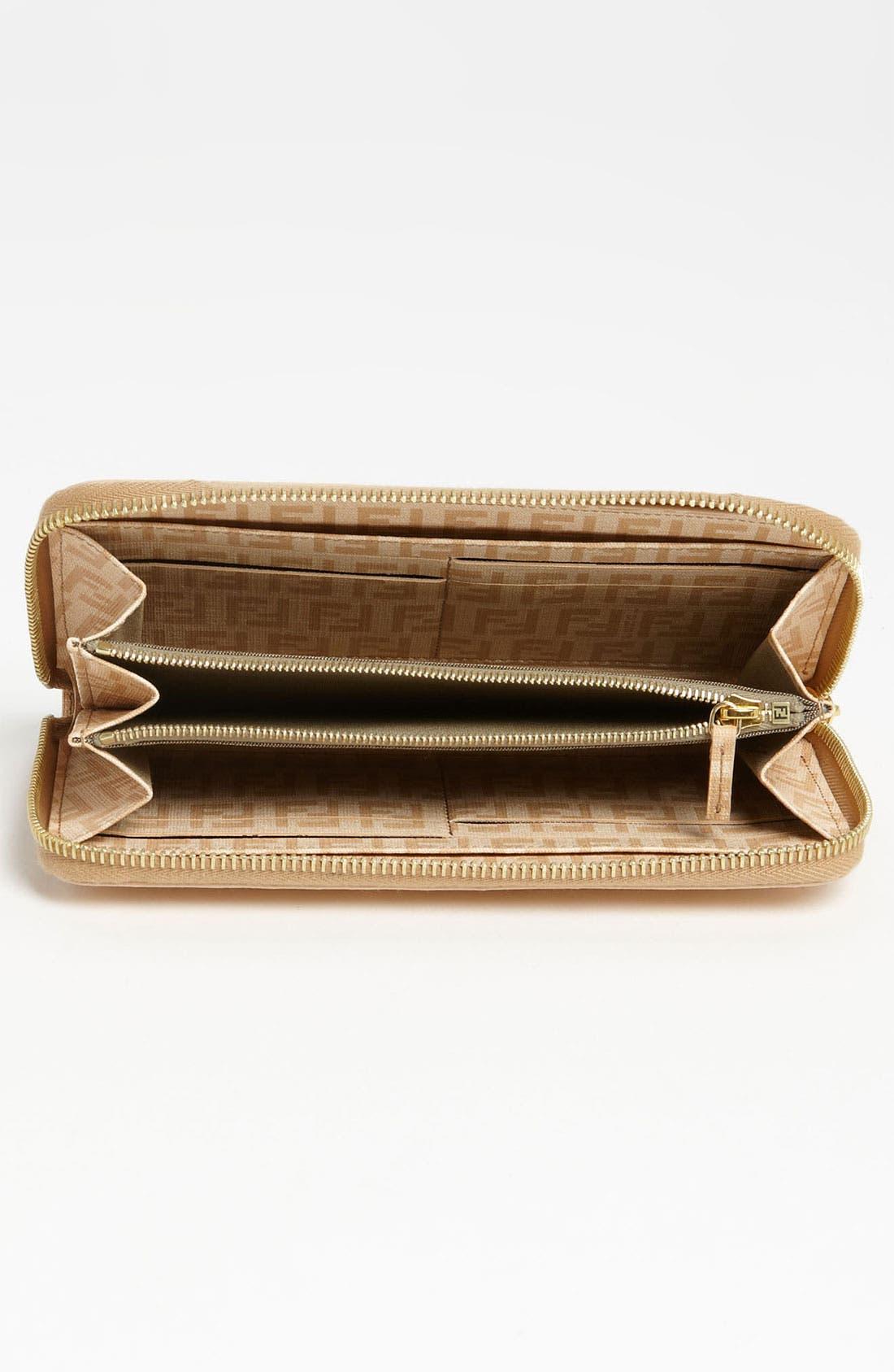 Alternate Image 3  - Fendi 'Forever' Zip Around Wallet