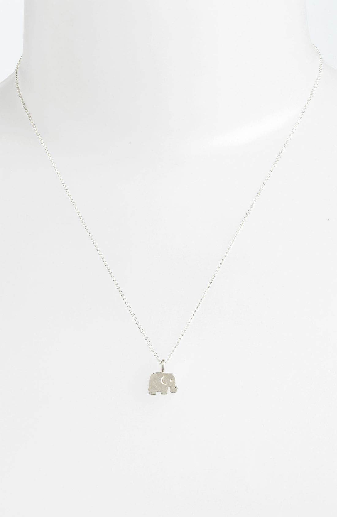 Alternate Image 2  - Dogeared 'Big Love for You' Elephant Pendant Necklace