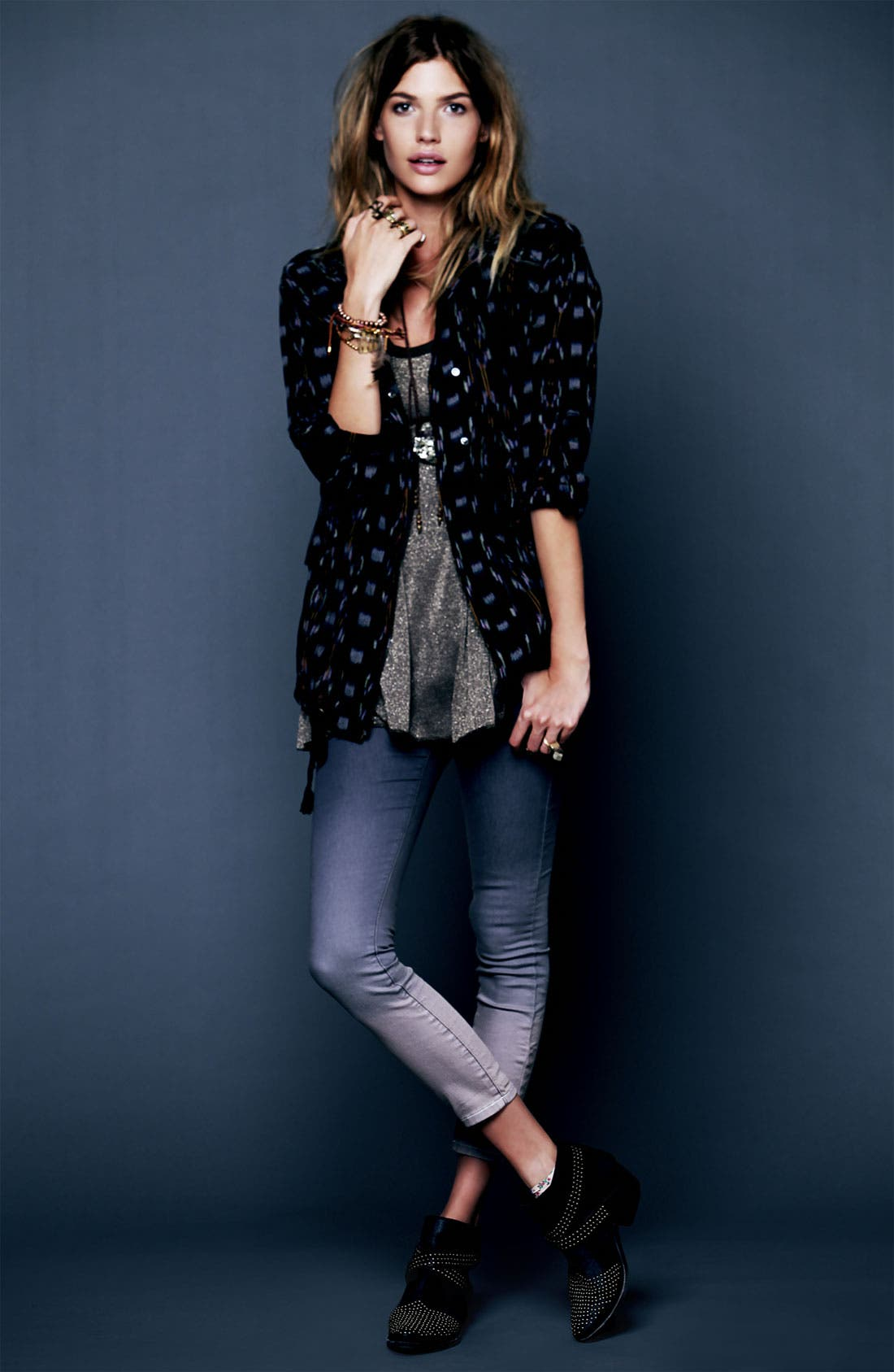 Alternate Image 4  - Free People Ikat Utility Jacket
