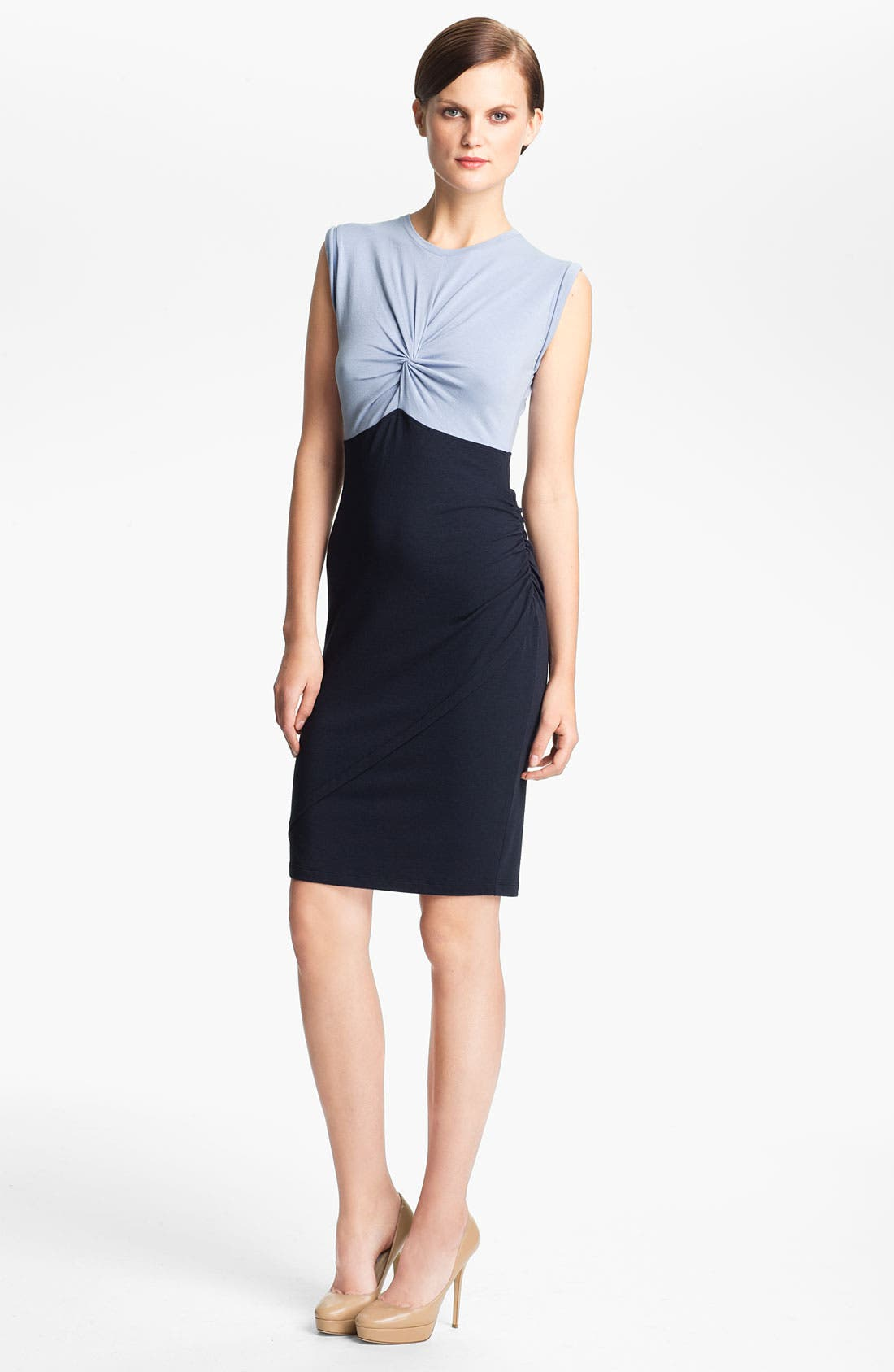 Alternate Image 1 Selected - Carven Twist Top Dress