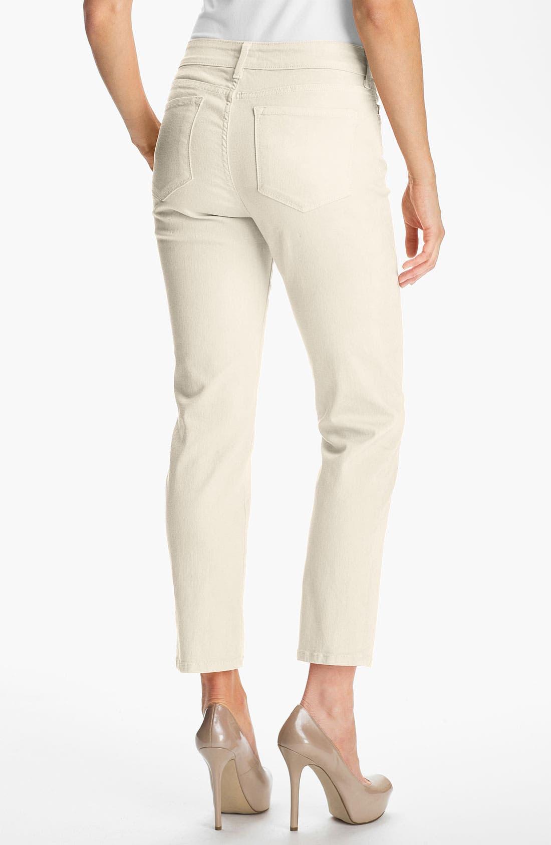 Alternate Image 2  - NYDJ 'Alisha' Skinny Stretch Ankle Jeans (Regular & Petite)