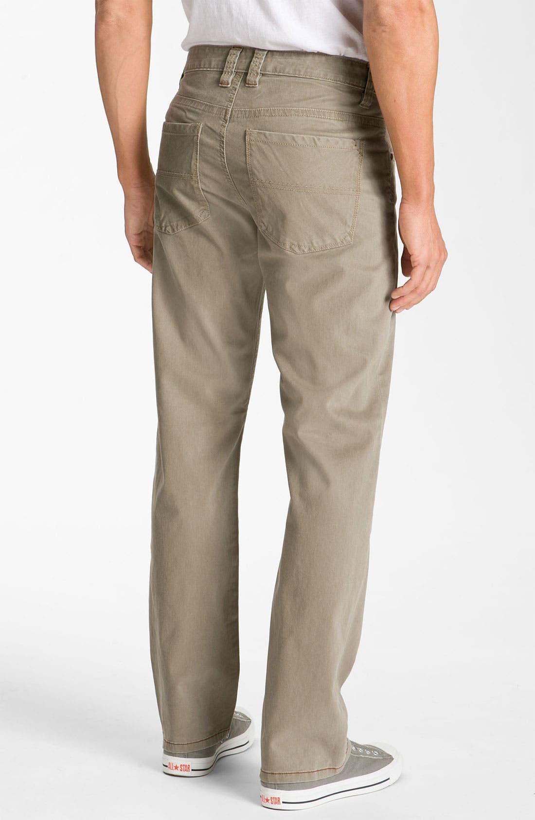 Alternate Image 2  - Tommy Bahama Denim 'Twill Smith' Standard Fit Pants (Big & Tall)