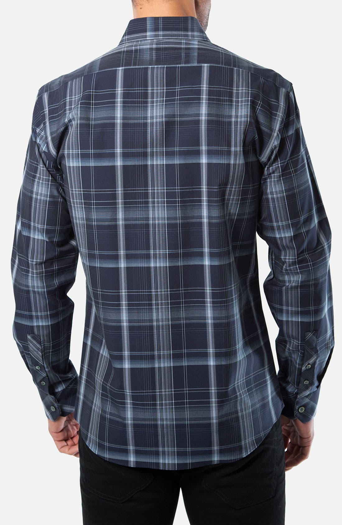 Alternate Image 2  - Kenson 'Across the Pacific' Plaid Woven Shirt