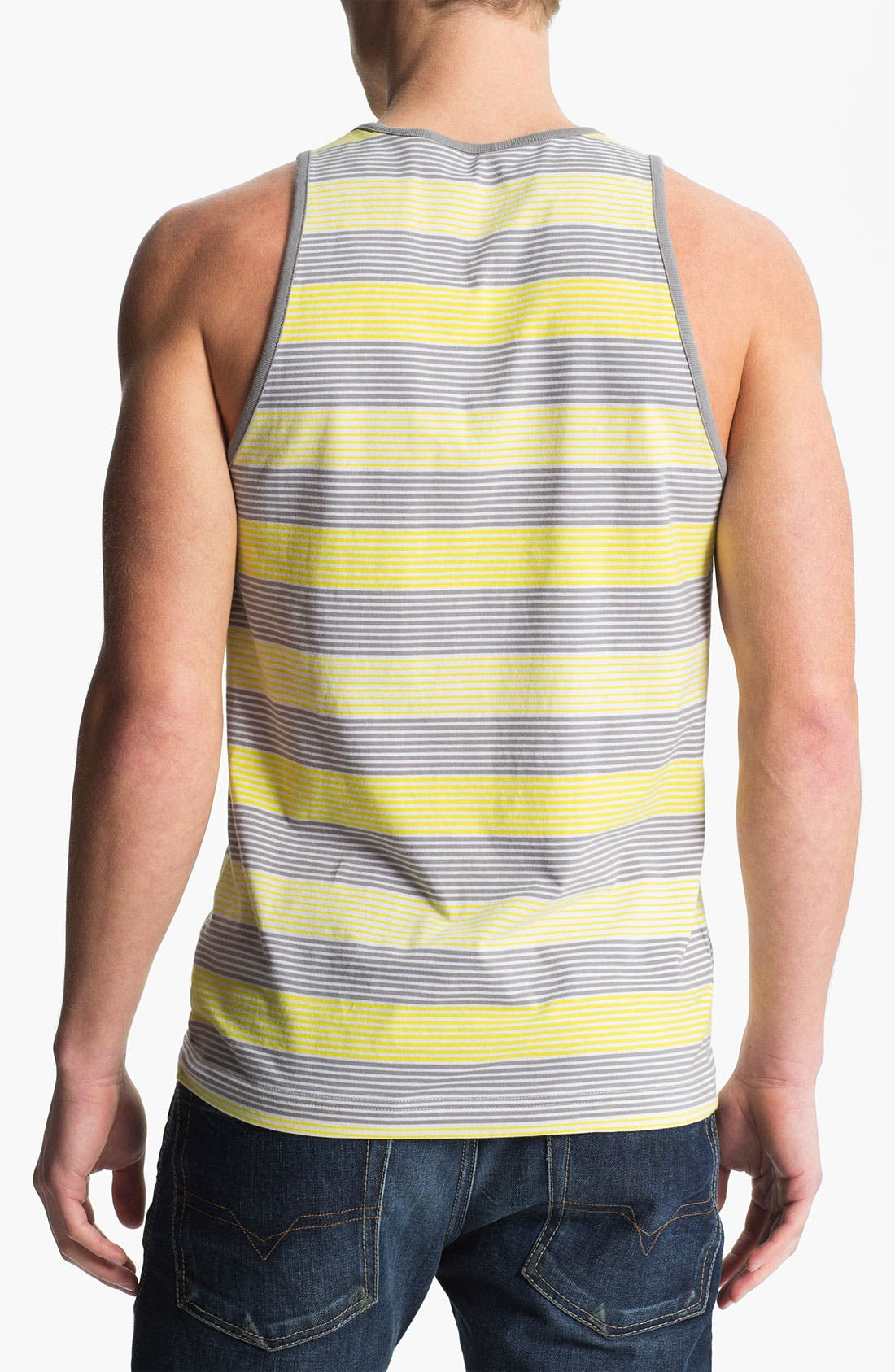 Alternate Image 2  - Original Penguin Stripe Tank Top