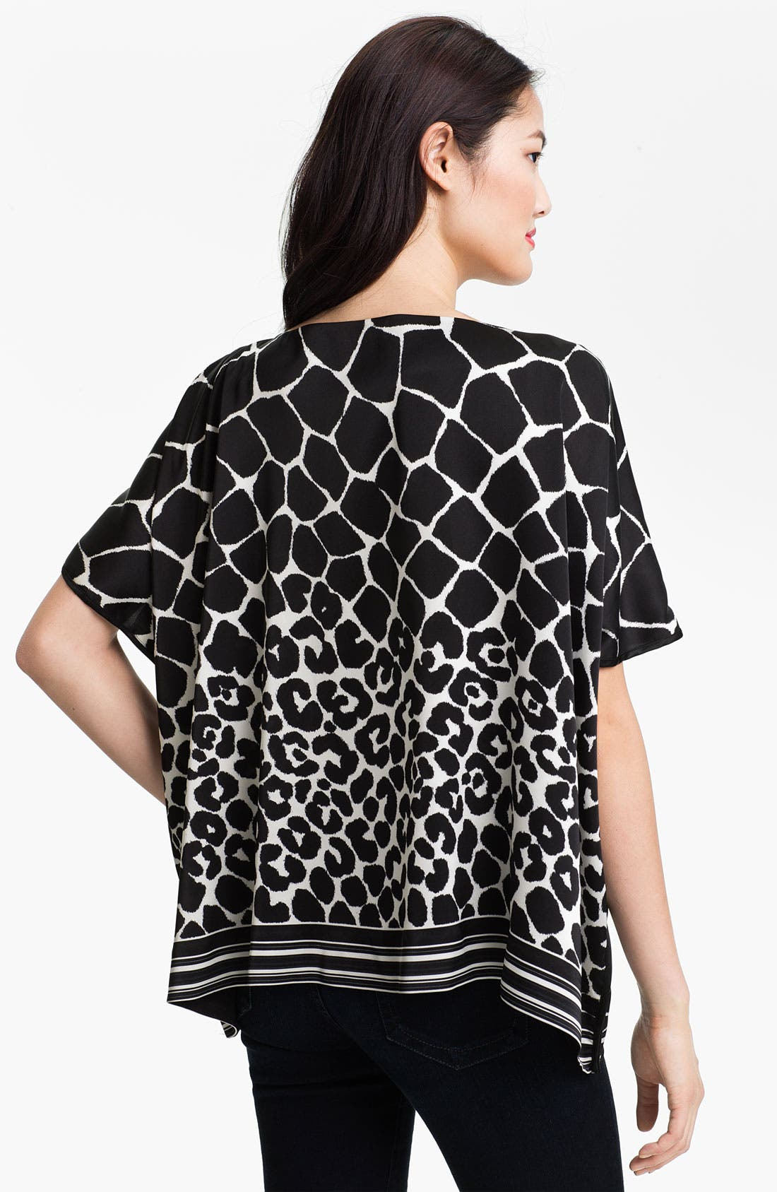 Alternate Image 2  - Vince Camuto Animal Print Blouse