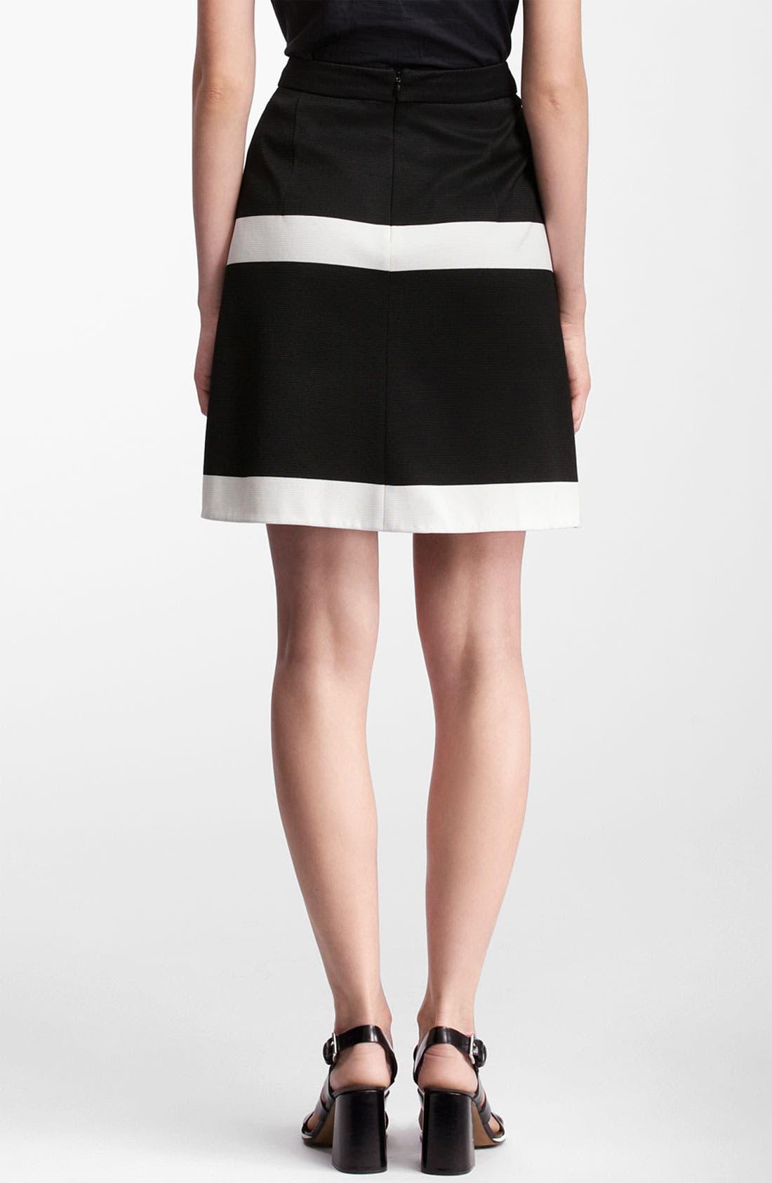 Alternate Image 2  - Marni Edition Grid Print Knit Skirt