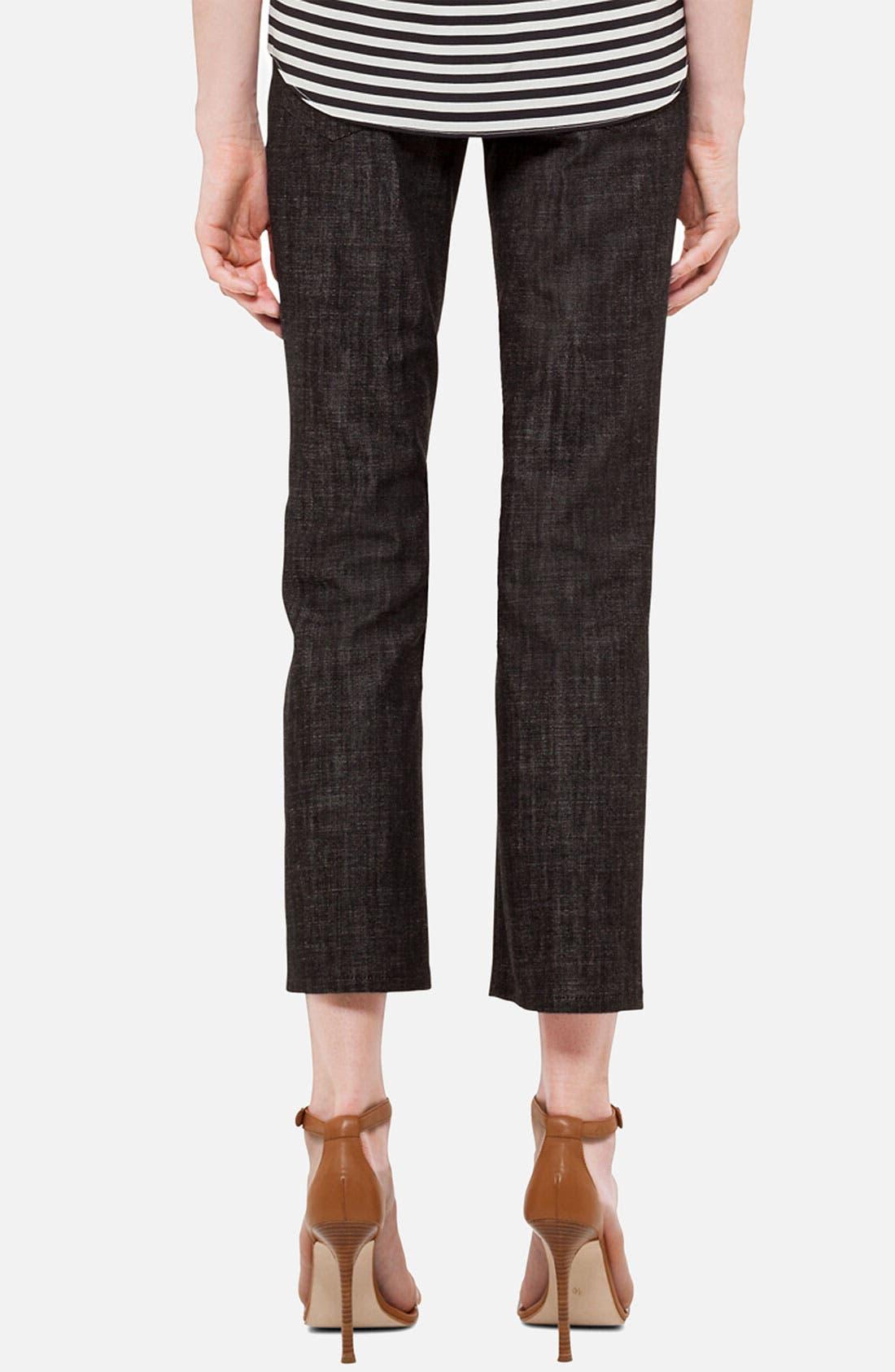 Alternate Image 2  - Akris punto 'Fayette' Bootcut Stretch Cotton Jeans
