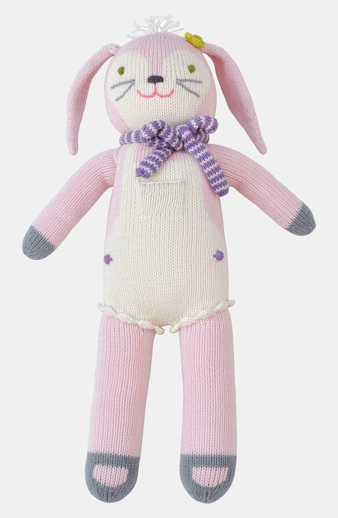 Main Image - Blabla 'Fleur the Bunny' Knit Doll