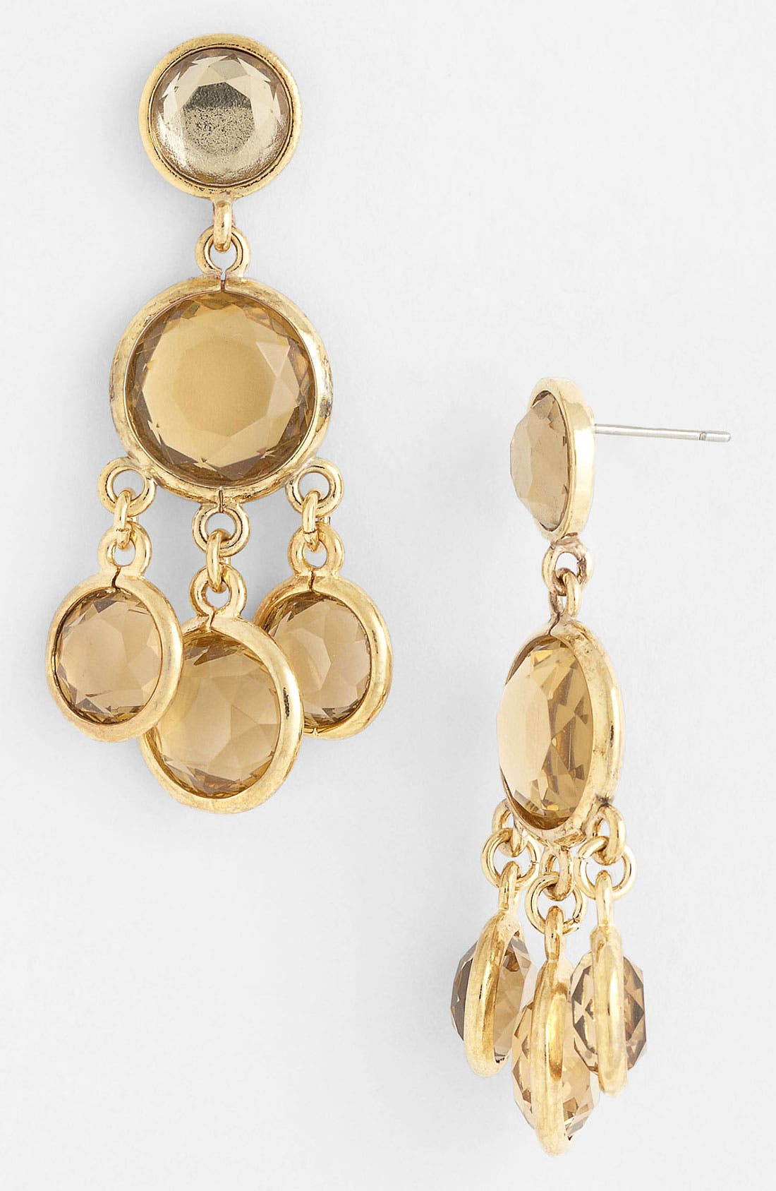 Alternate Image 1 Selected - Anne Klein Chandelier Earrings