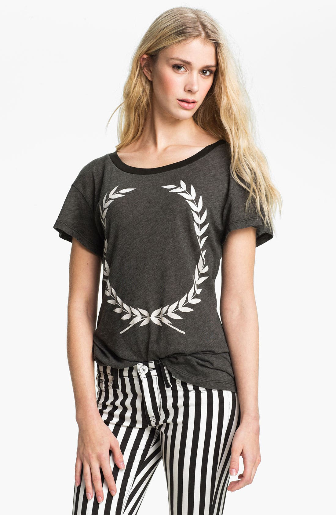Main Image - Wildfox 'Laurel' Graphic Tee (Nordstrom Exclusive)