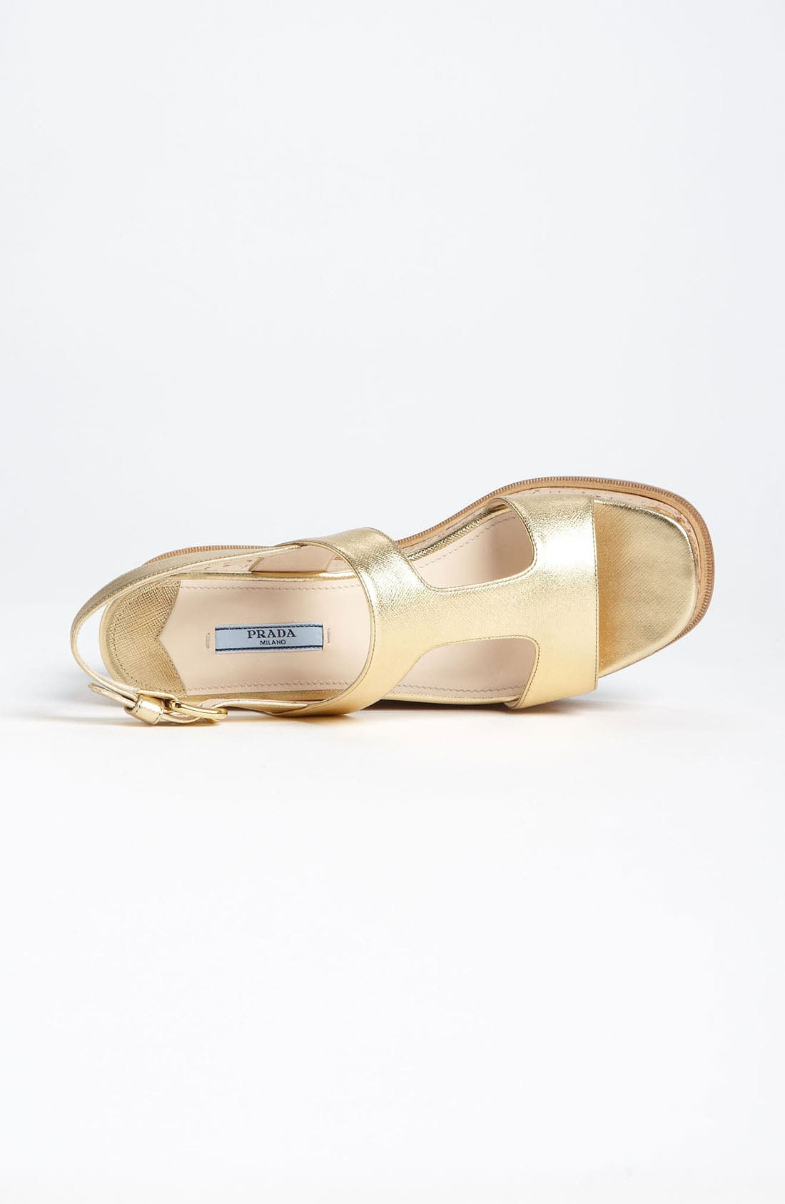 Alternate Image 3  - Prada T-Strap Platform Wedge Sandal