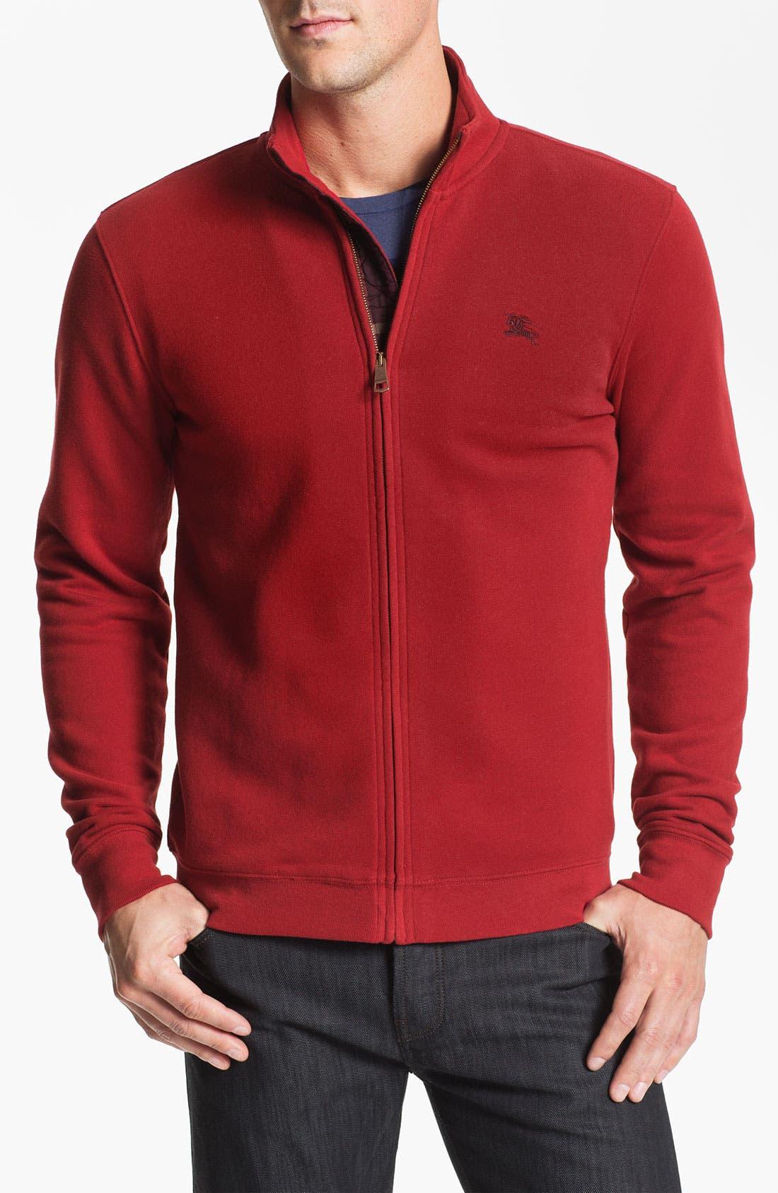 Main Image - Burberry Brit 'Carr' Zip Front Fleece Jacket