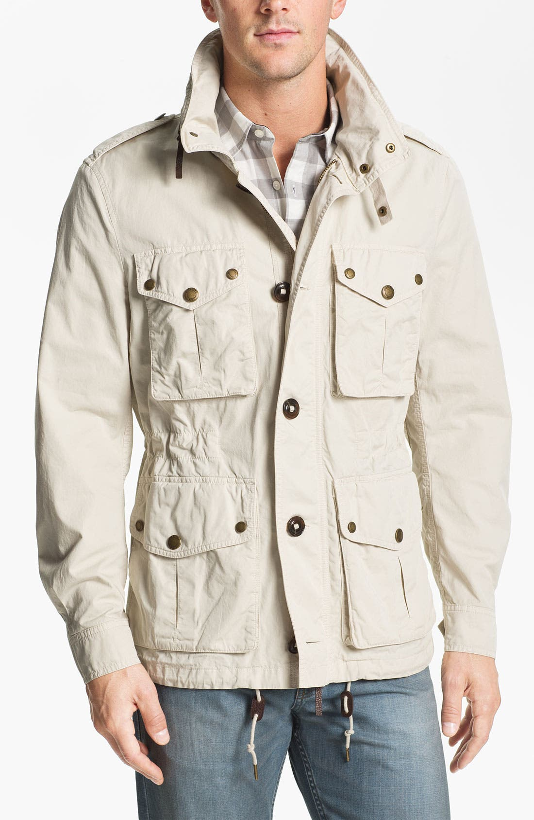 Main Image - Burberry Brit 'Becondale' Military Jacket
